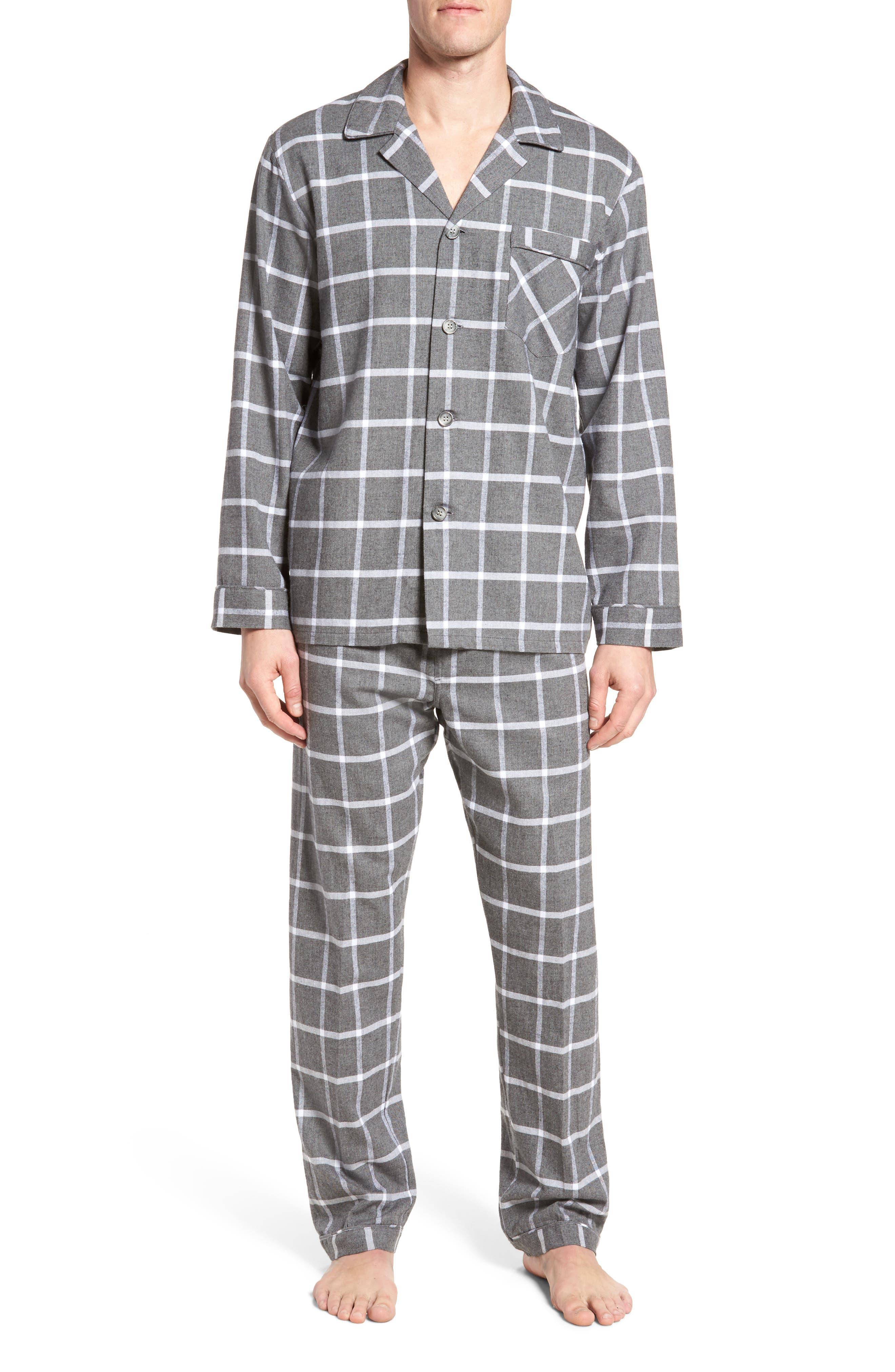 Bryson Plaid Pajama Set,                             Main thumbnail 1, color,