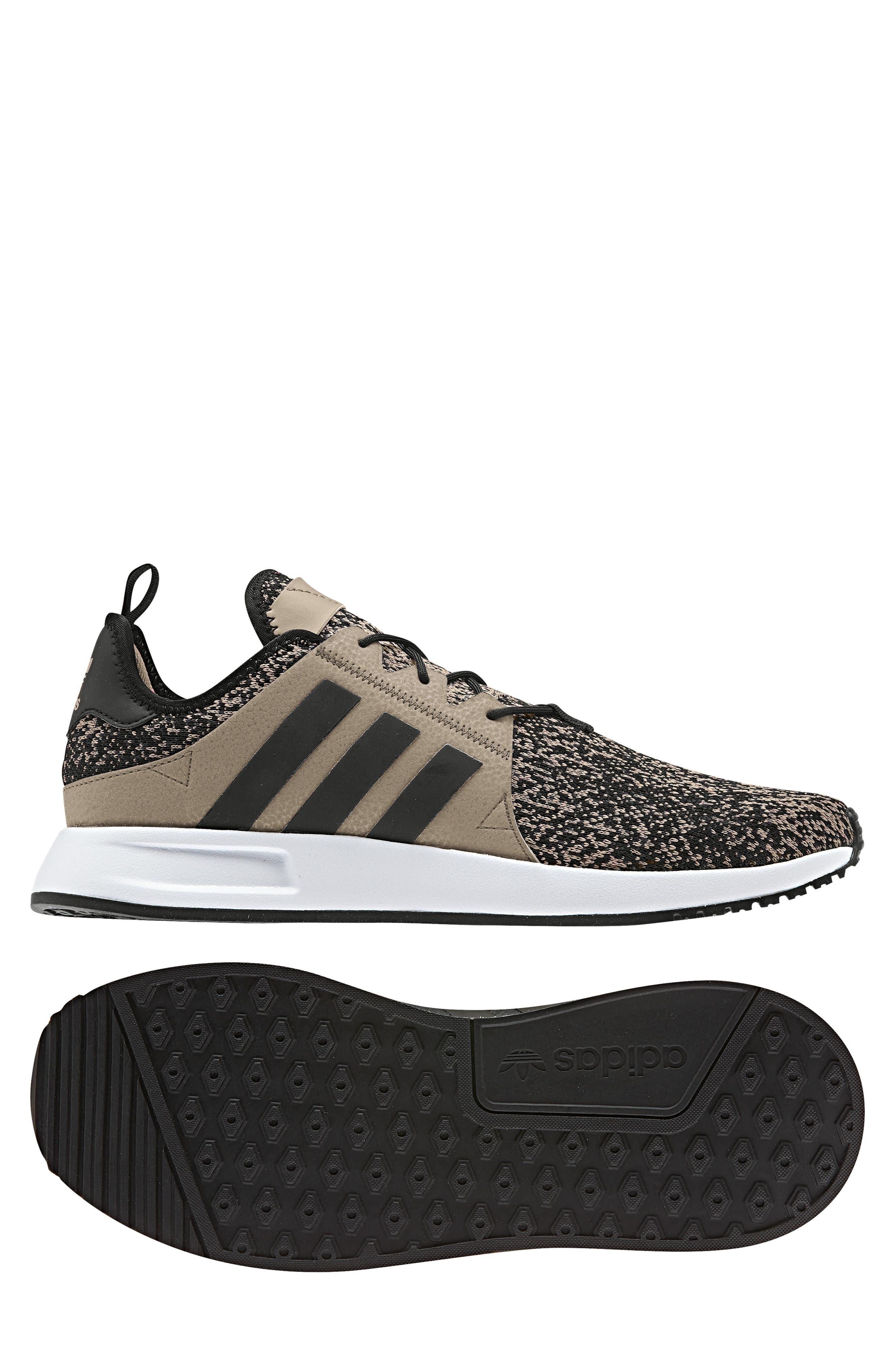 X_PLR Sneaker,                             Alternate thumbnail 8, color,                             KHAKI / CORE BLACK / WHITE