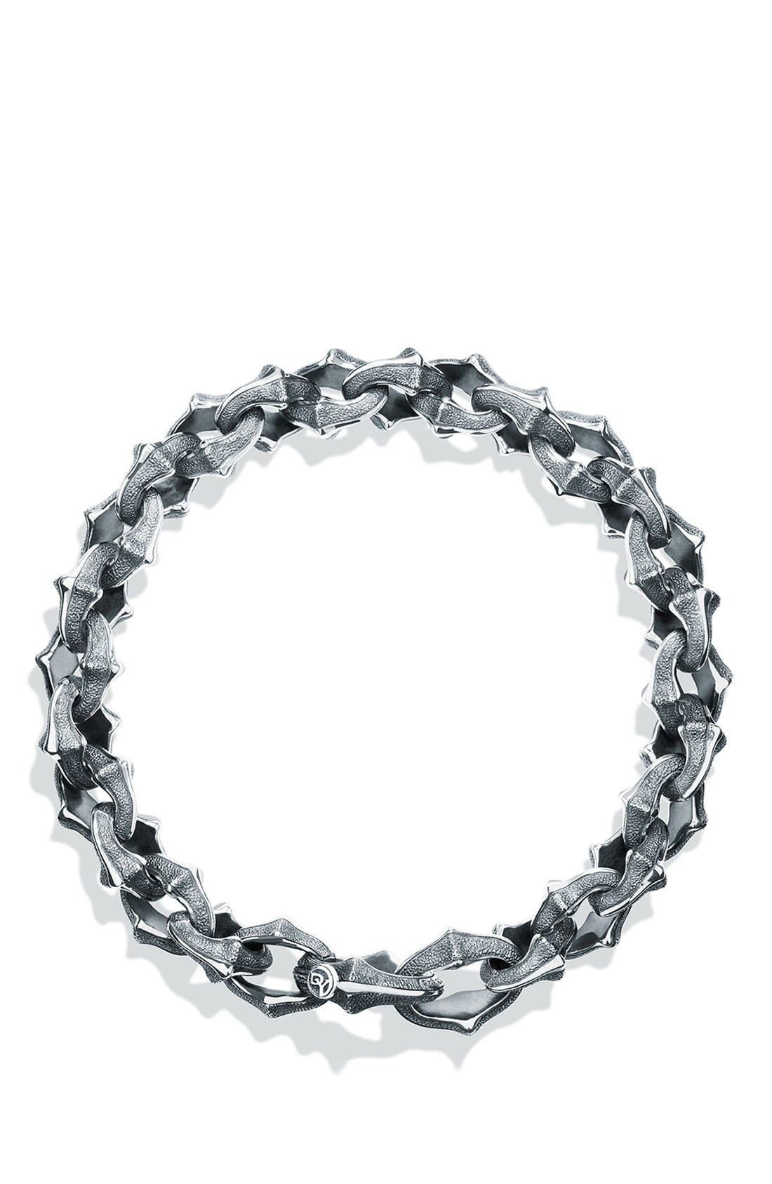 'Armory' Small Link Bracelet,                             Alternate thumbnail 2, color,                             SILVER