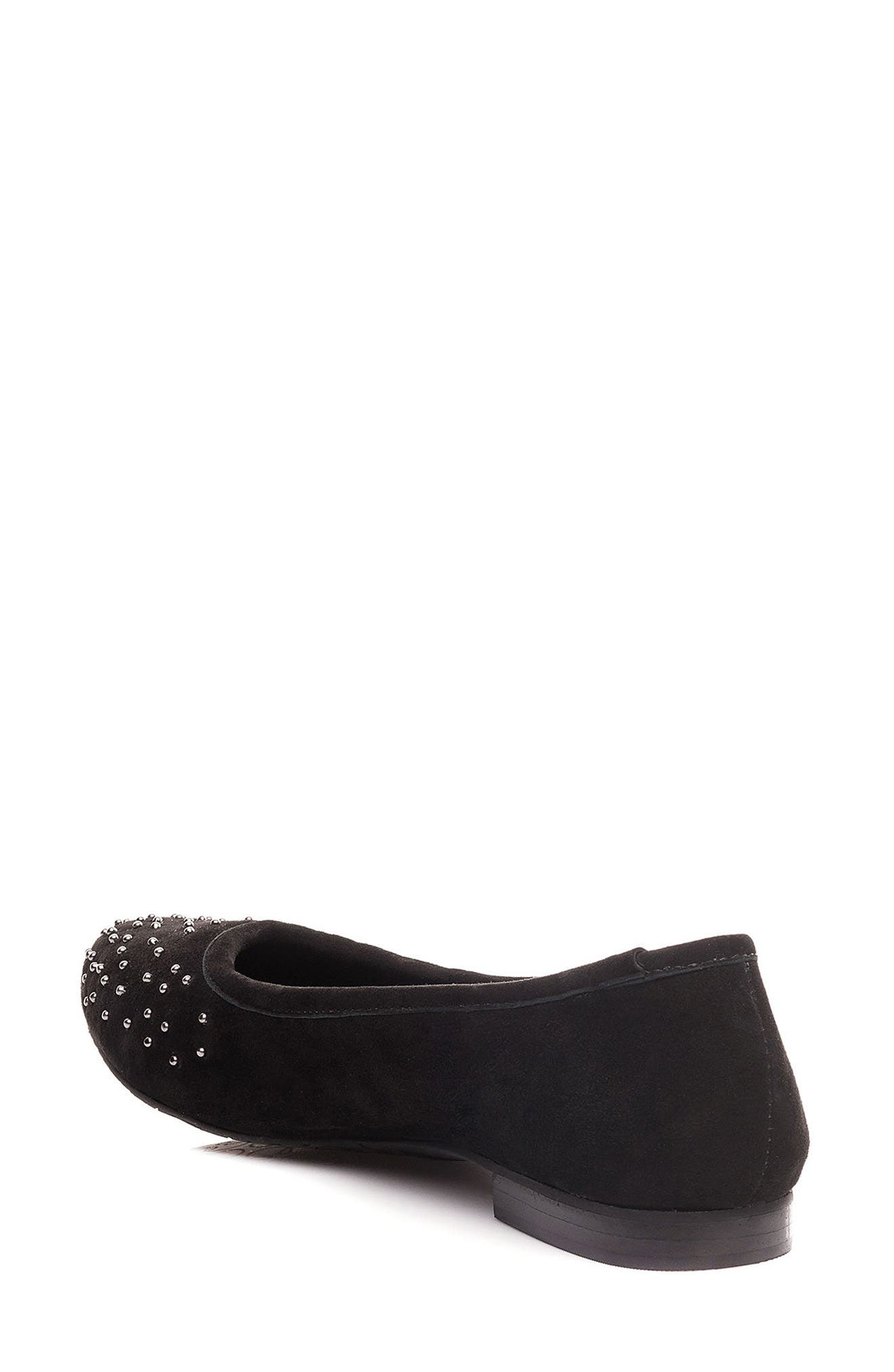 Dallas Studded Flat,                             Alternate thumbnail 2, color,                             001
