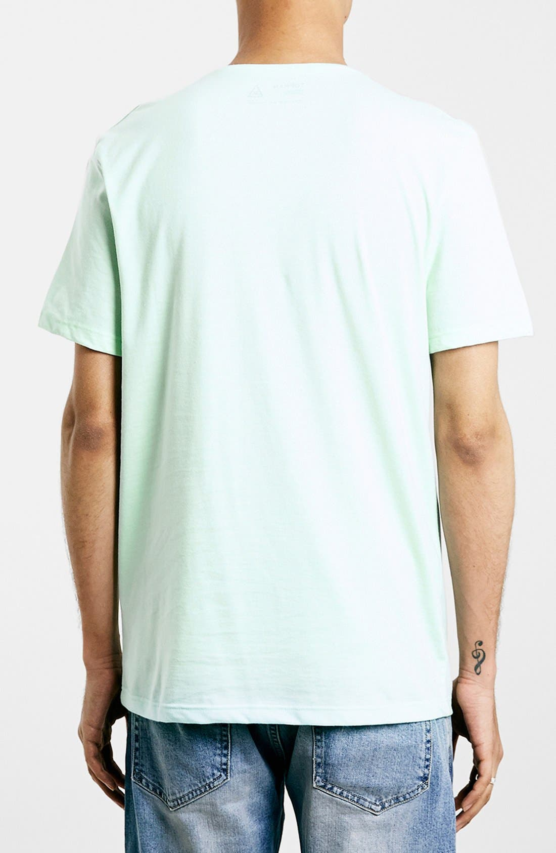 Slim Fit Crewneck T-Shirt,                             Alternate thumbnail 243, color,
