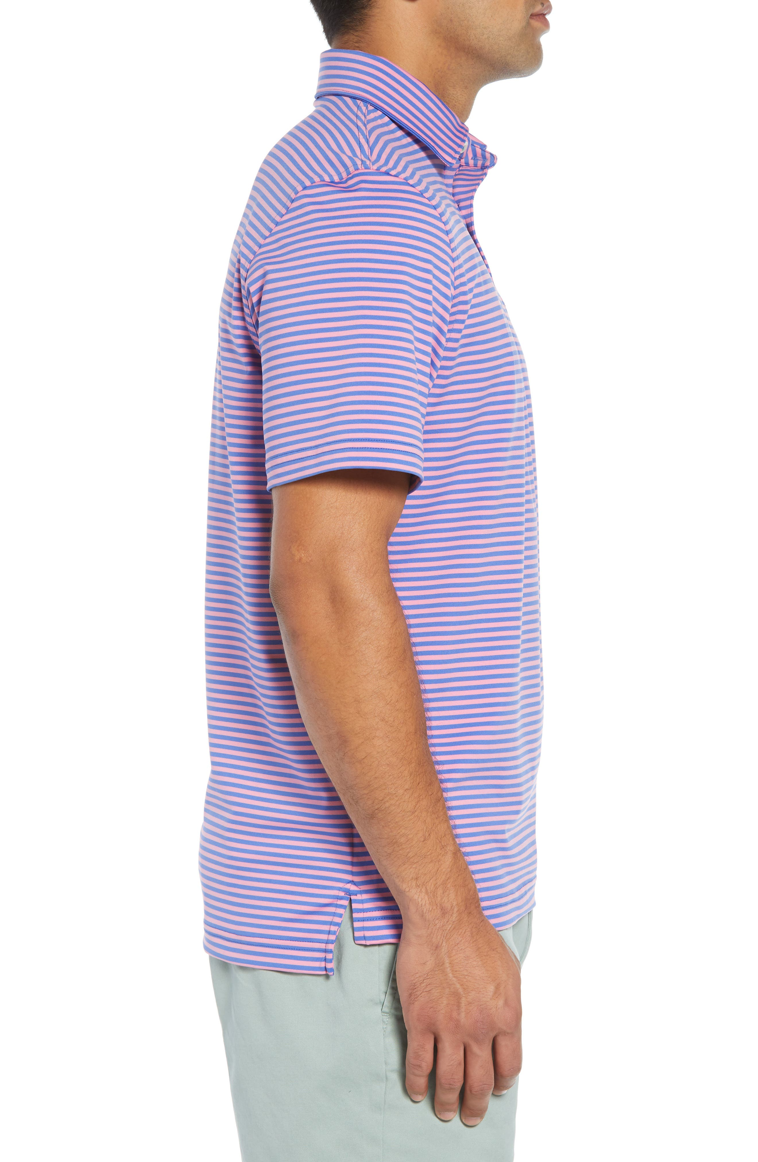 Kennedy Stripe Golf Polo,                             Alternate thumbnail 43, color,