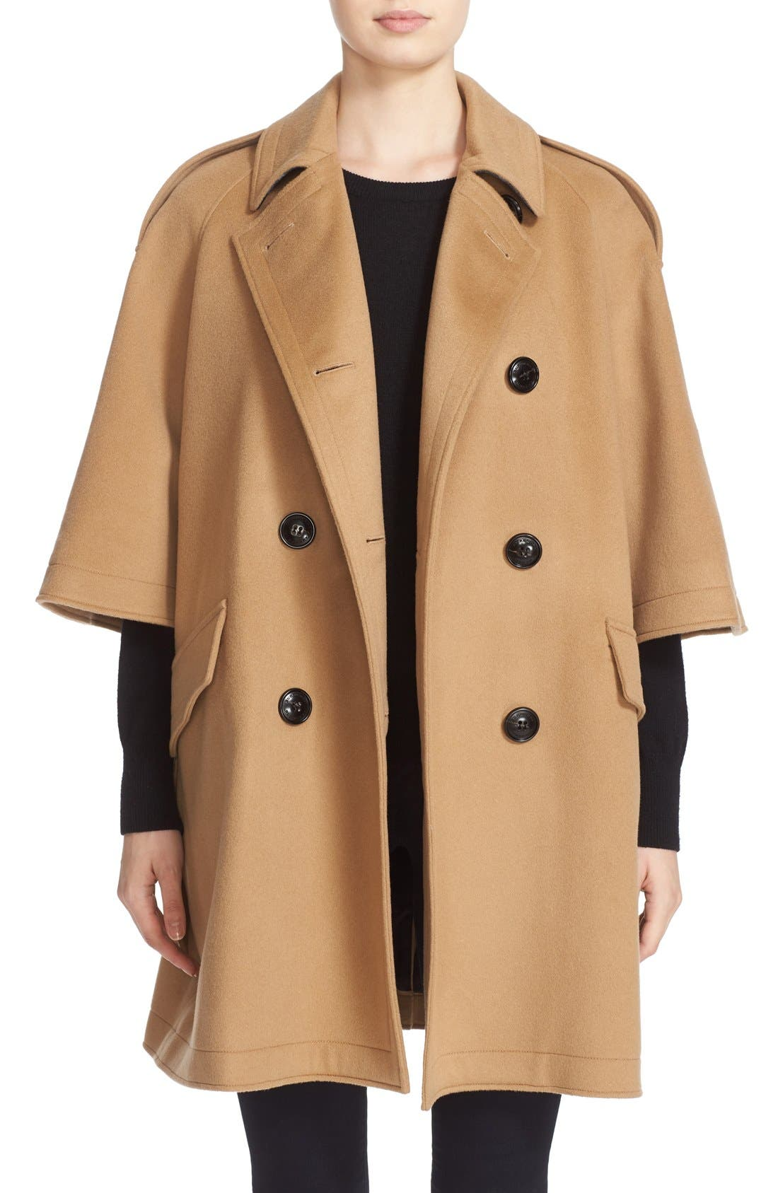 Dennington Trench Cape Coat,                         Main,                         color, 231