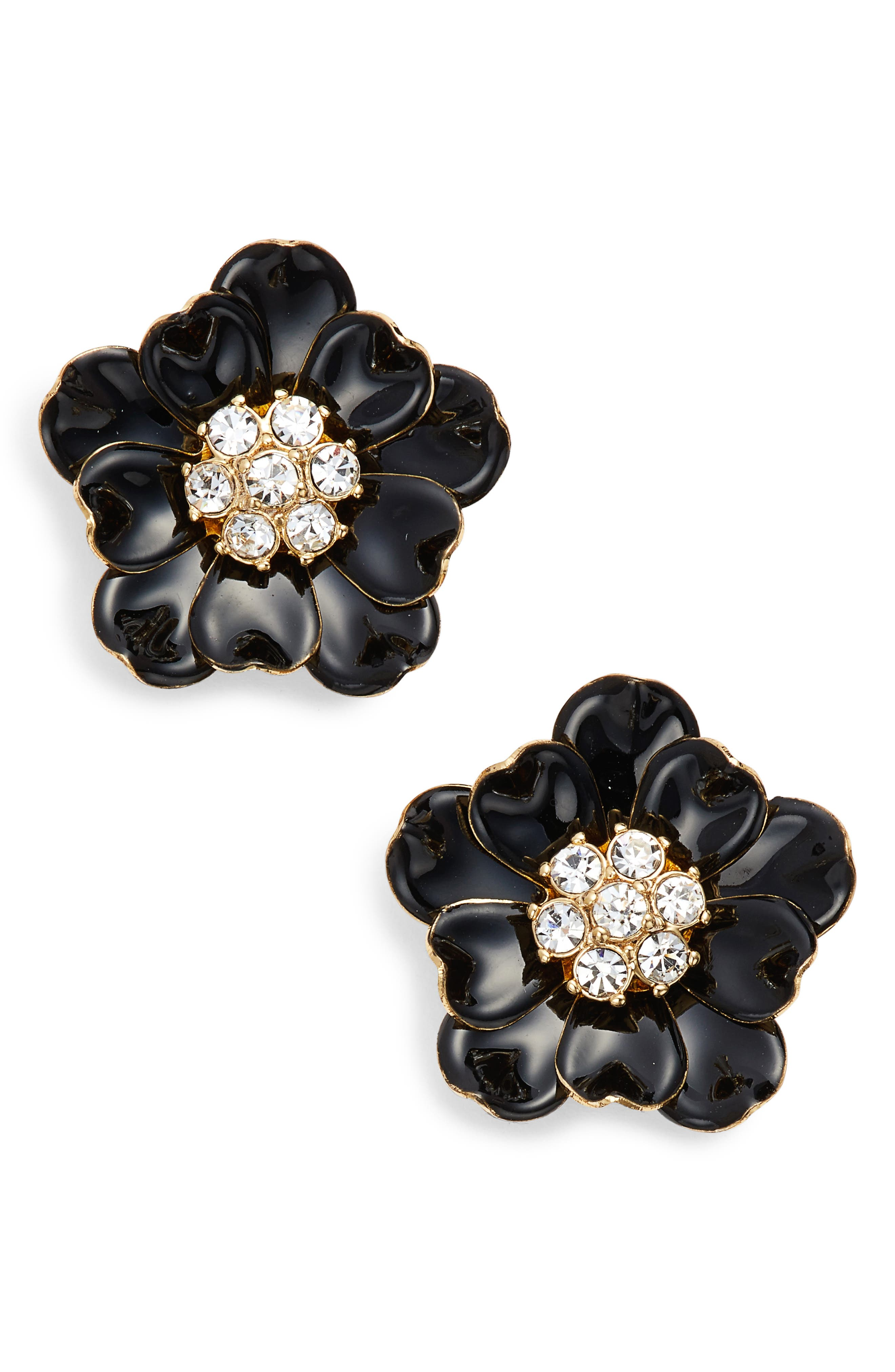 precious poppies stud earrings,                             Main thumbnail 1, color,                             006