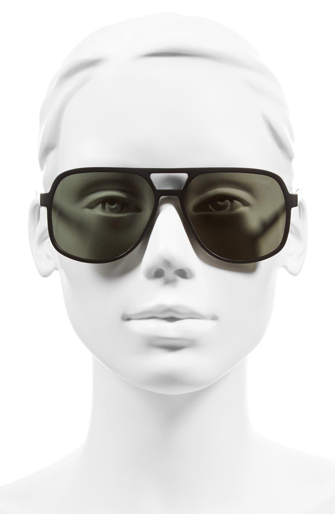 Cousteau 58mm Sunglasses,                             Alternate thumbnail 2, color,                             001