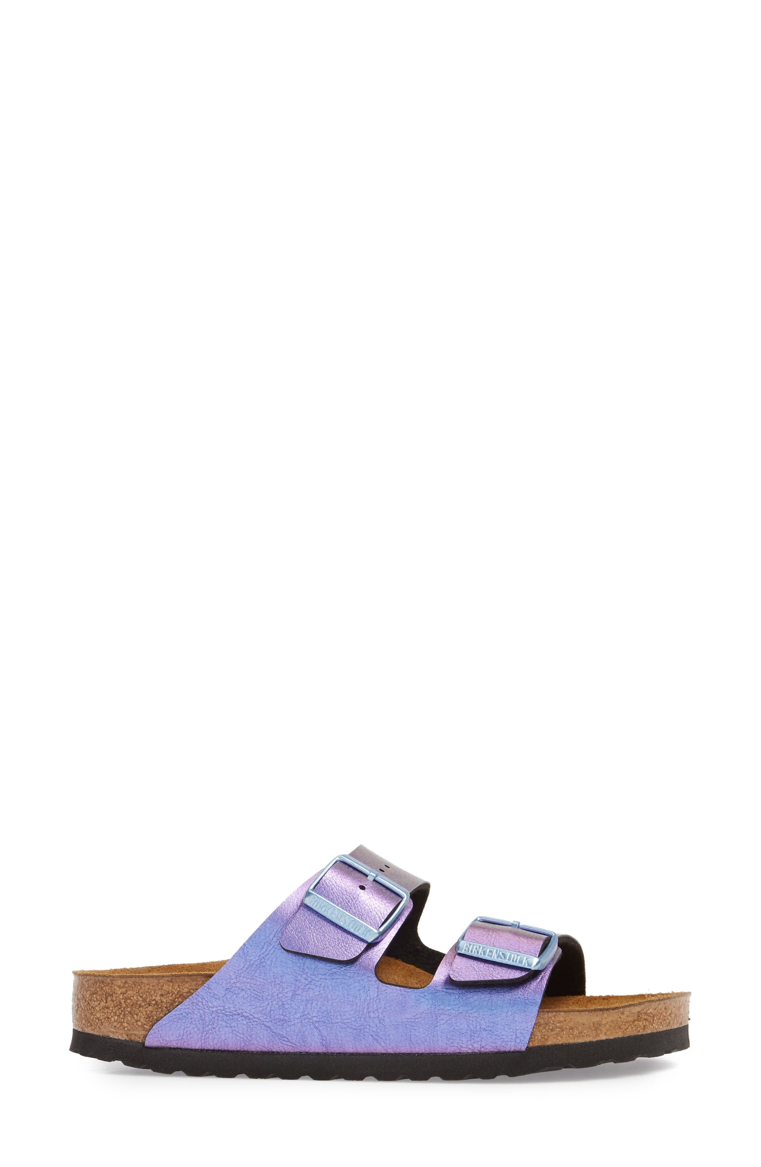 Arizona Graceful Birko-Flor<sup>™</sup> Sandal,                             Alternate thumbnail 3, color,                             VIOLET