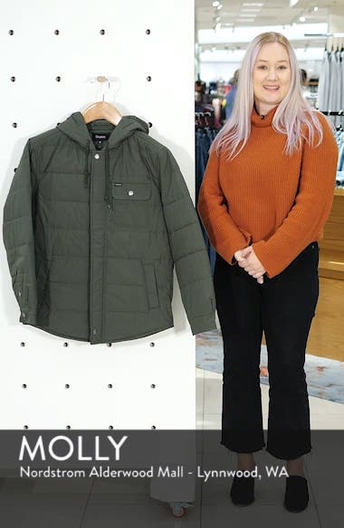 Cass Hooded Quilted Water Repellent Cotton Jacket, sales video thumbnail