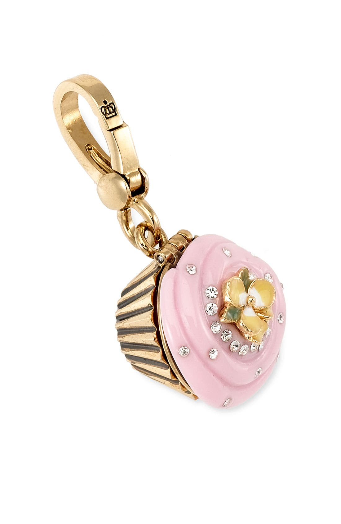 JUICY COUTURE Cupcake Charm, Main, color, 650