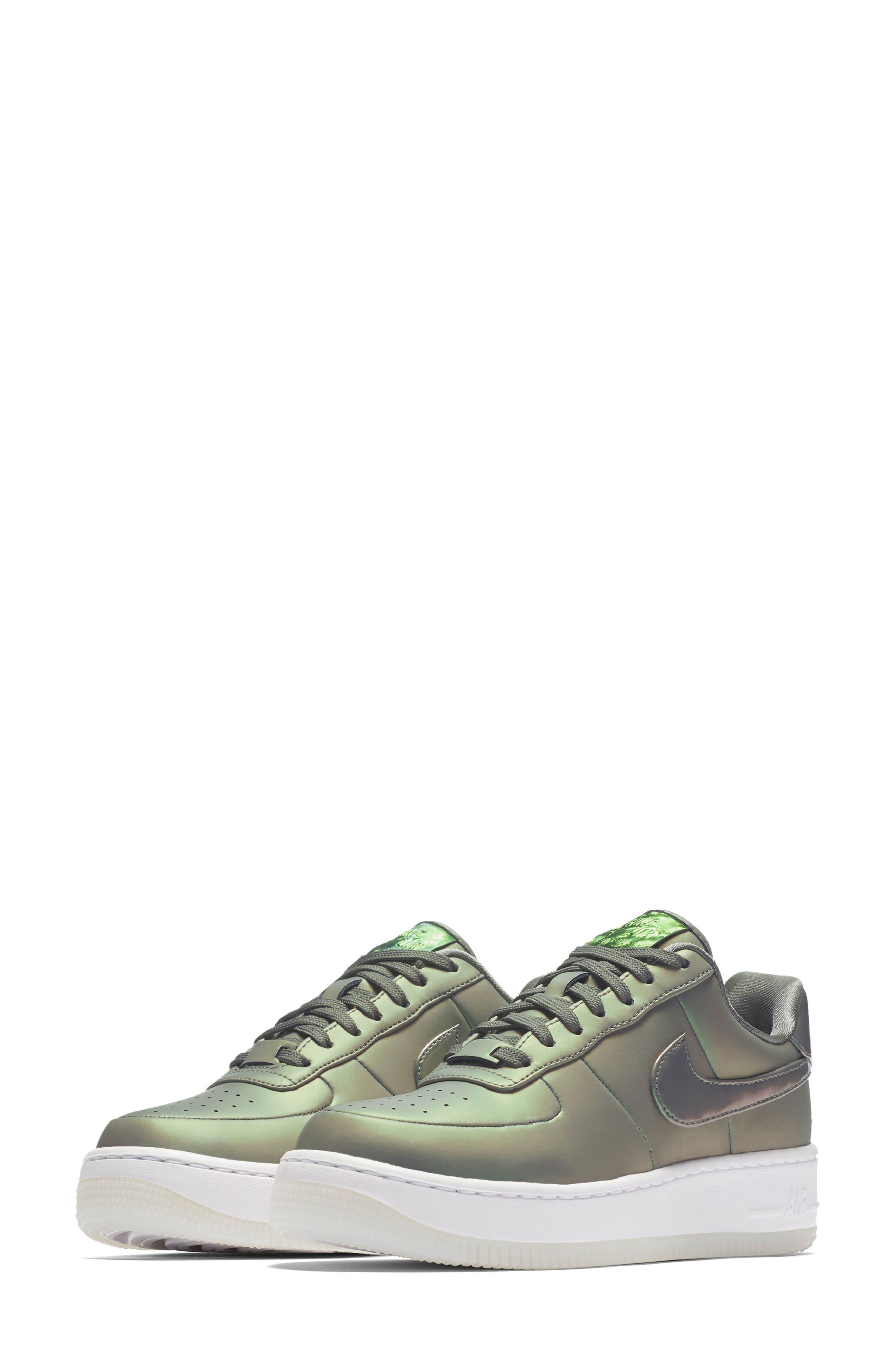 Air Force 1 Upstep Premium LX Shoe,                             Alternate thumbnail 4, color,                             252