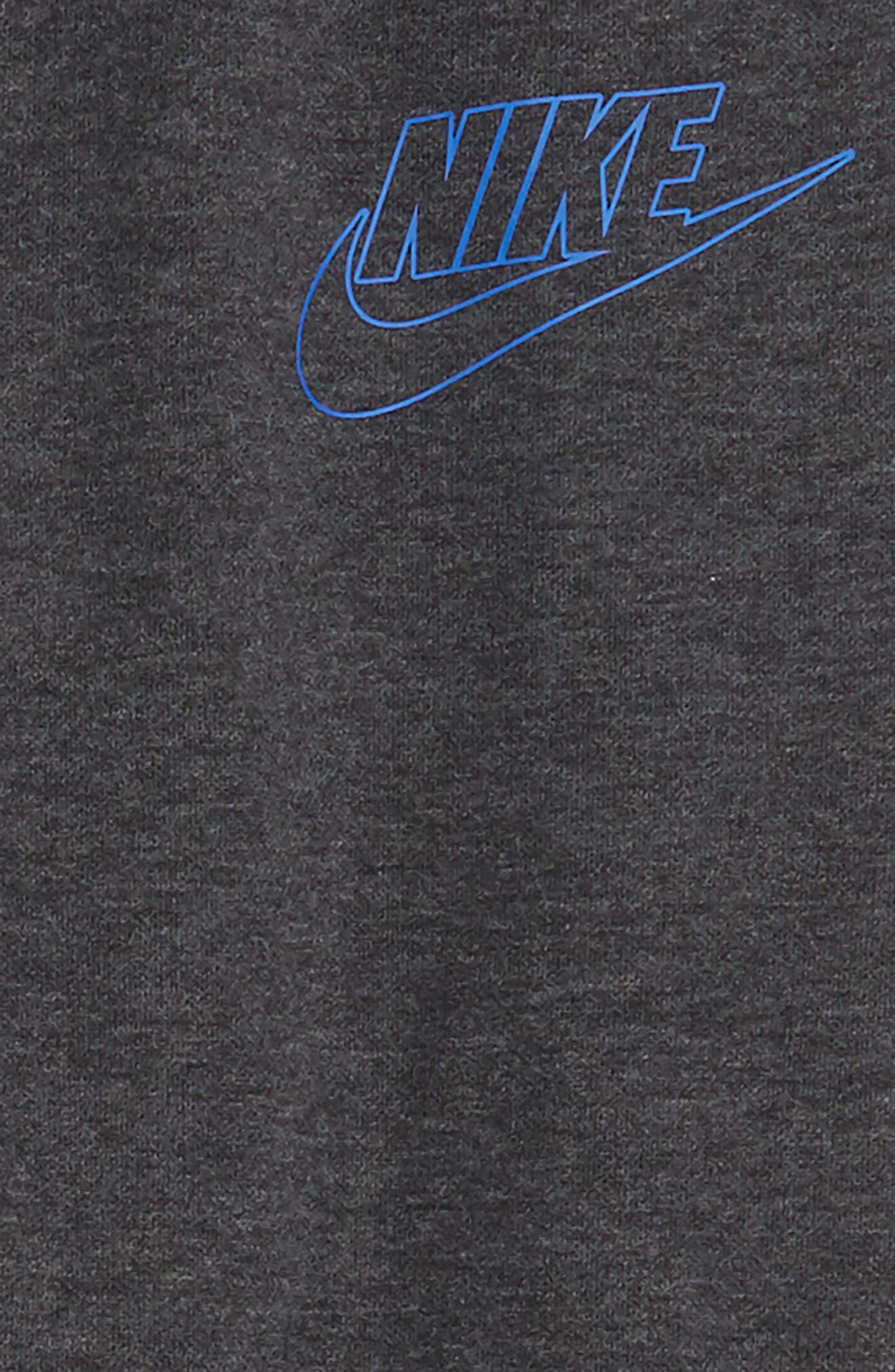 Sportswear My Nike Sweatpants,                             Alternate thumbnail 2, color,                             BLACK HEATHER/ GAME ROYAL