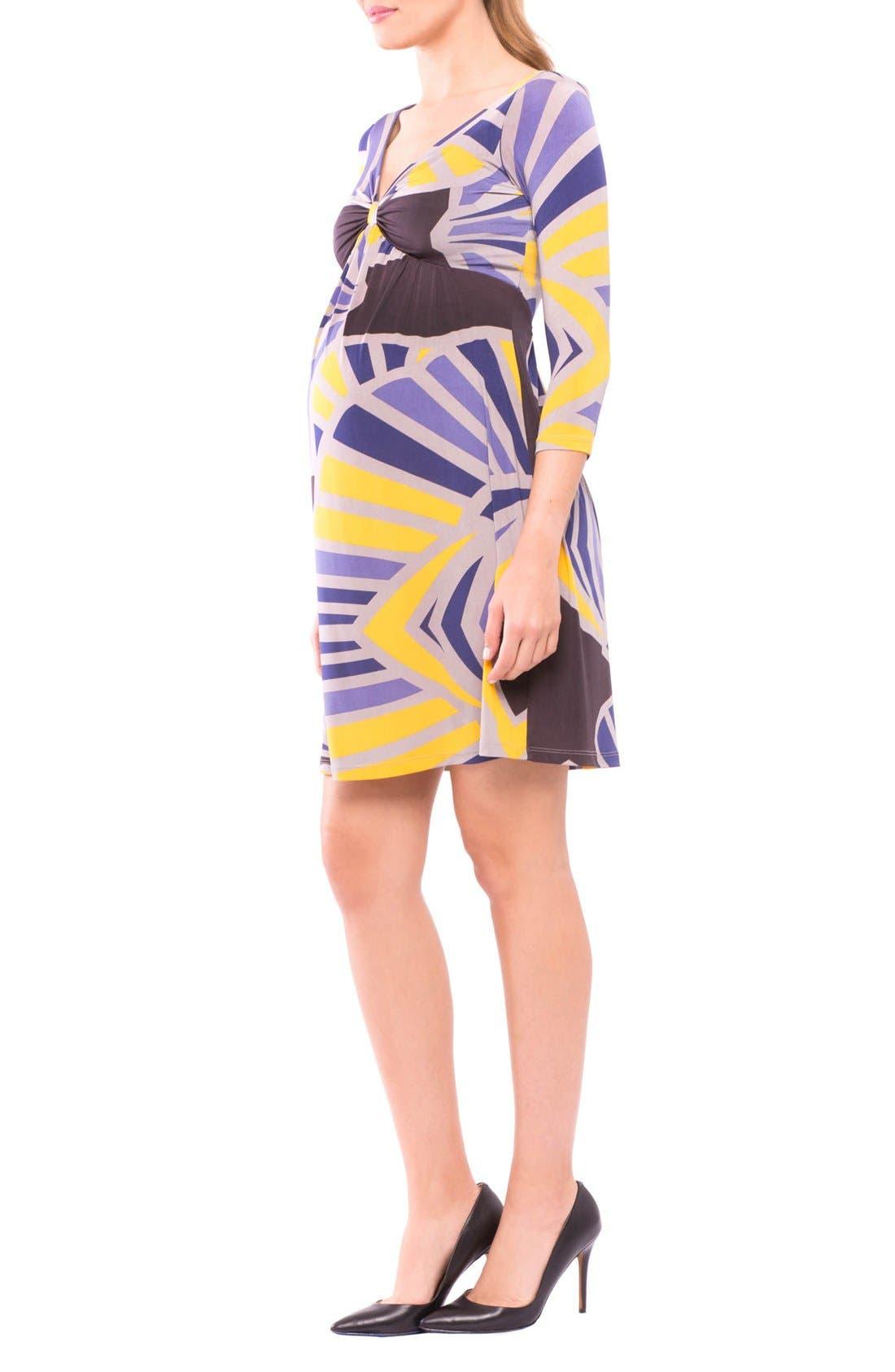 Lyla Maternity Dress,                             Alternate thumbnail 3, color,                             540