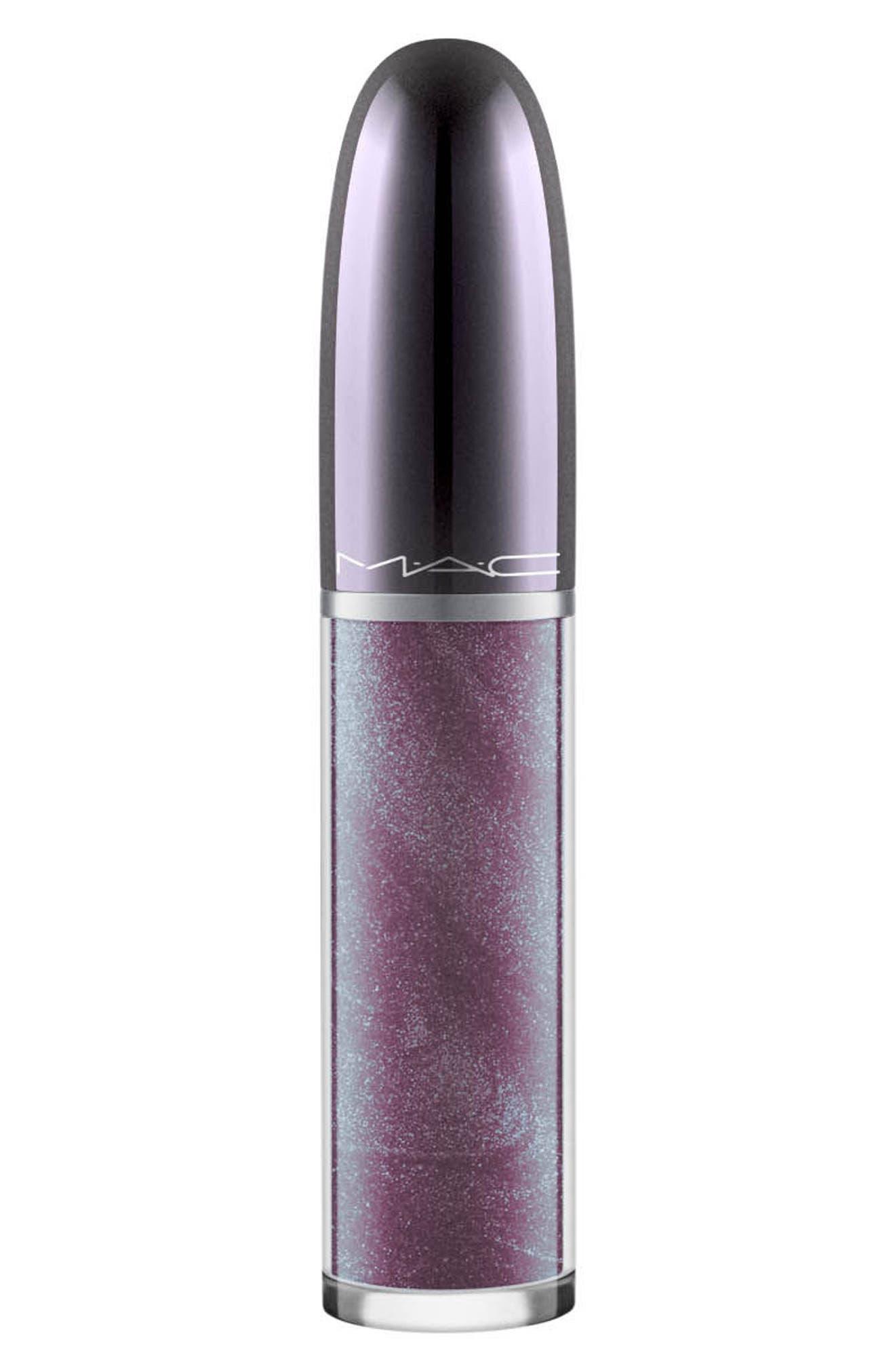 MAC Grand Illusion Glossy Liquid Lipcolor,                         Main,                         color, SENSORY OVERLOAD