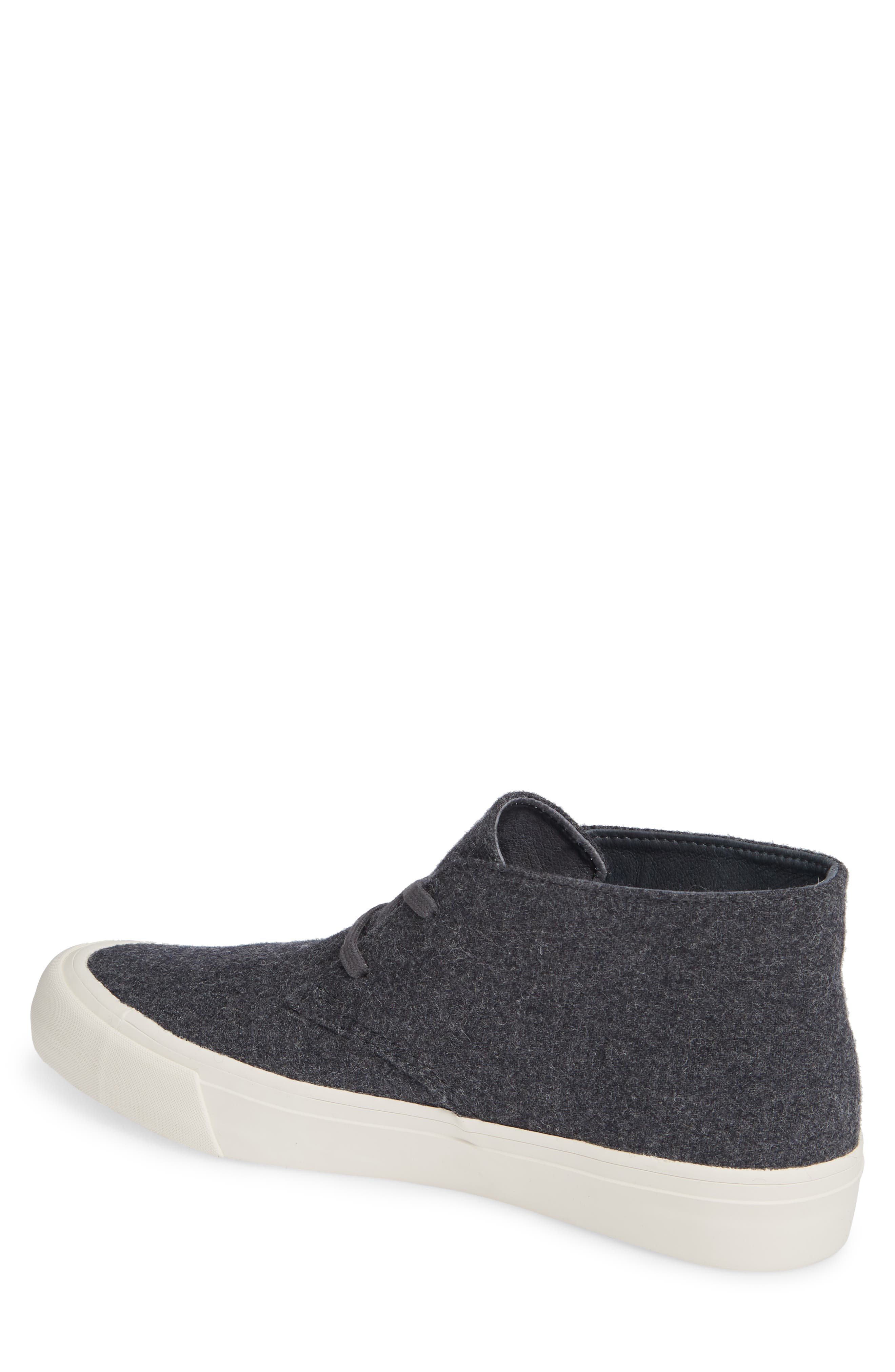 Maslon Chukka Sneaker,                             Alternate thumbnail 2, color,                             CHARCOAL WOOL FLANNEL