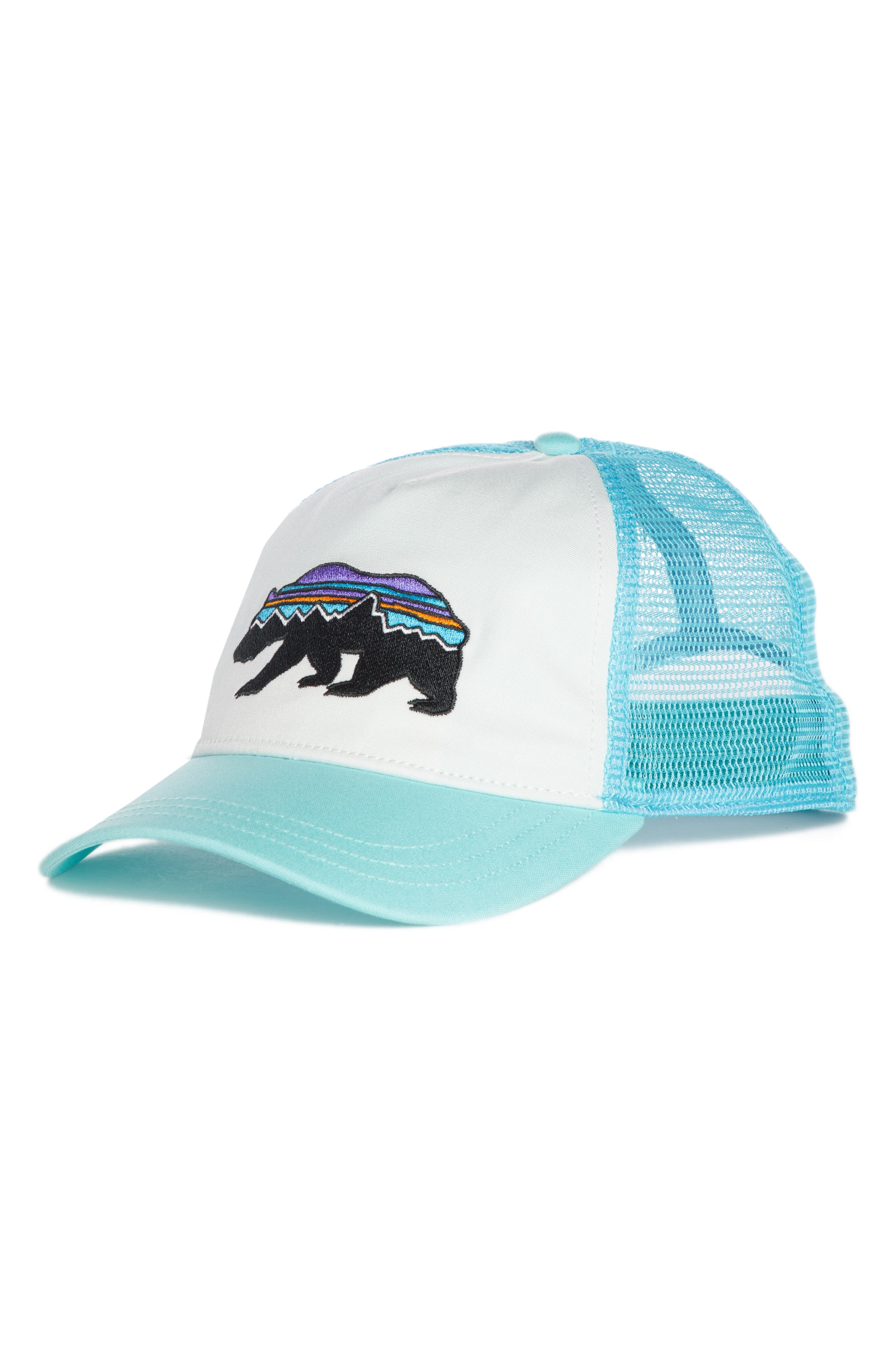 Fitz Roy Bear Trucker Hat,                         Main,                         color, 101
