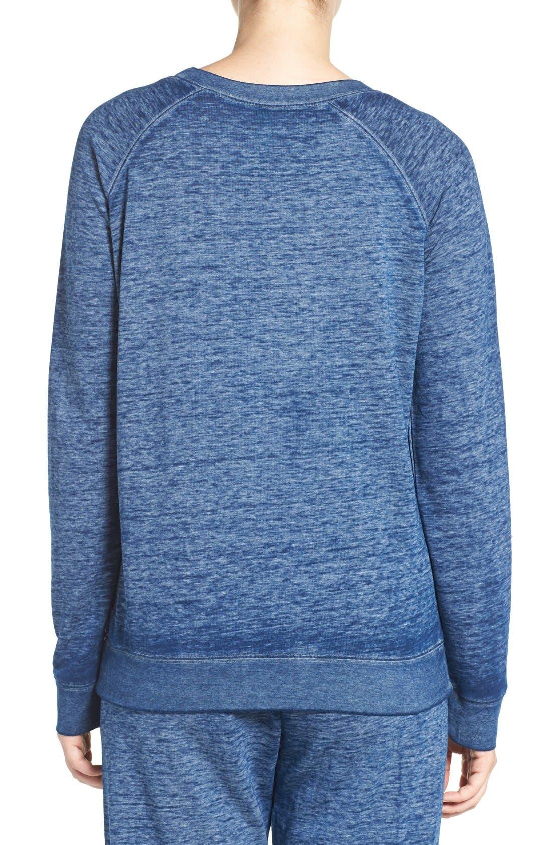 Burnout Lounge Sweatshirt,                             Alternate thumbnail 231, color,