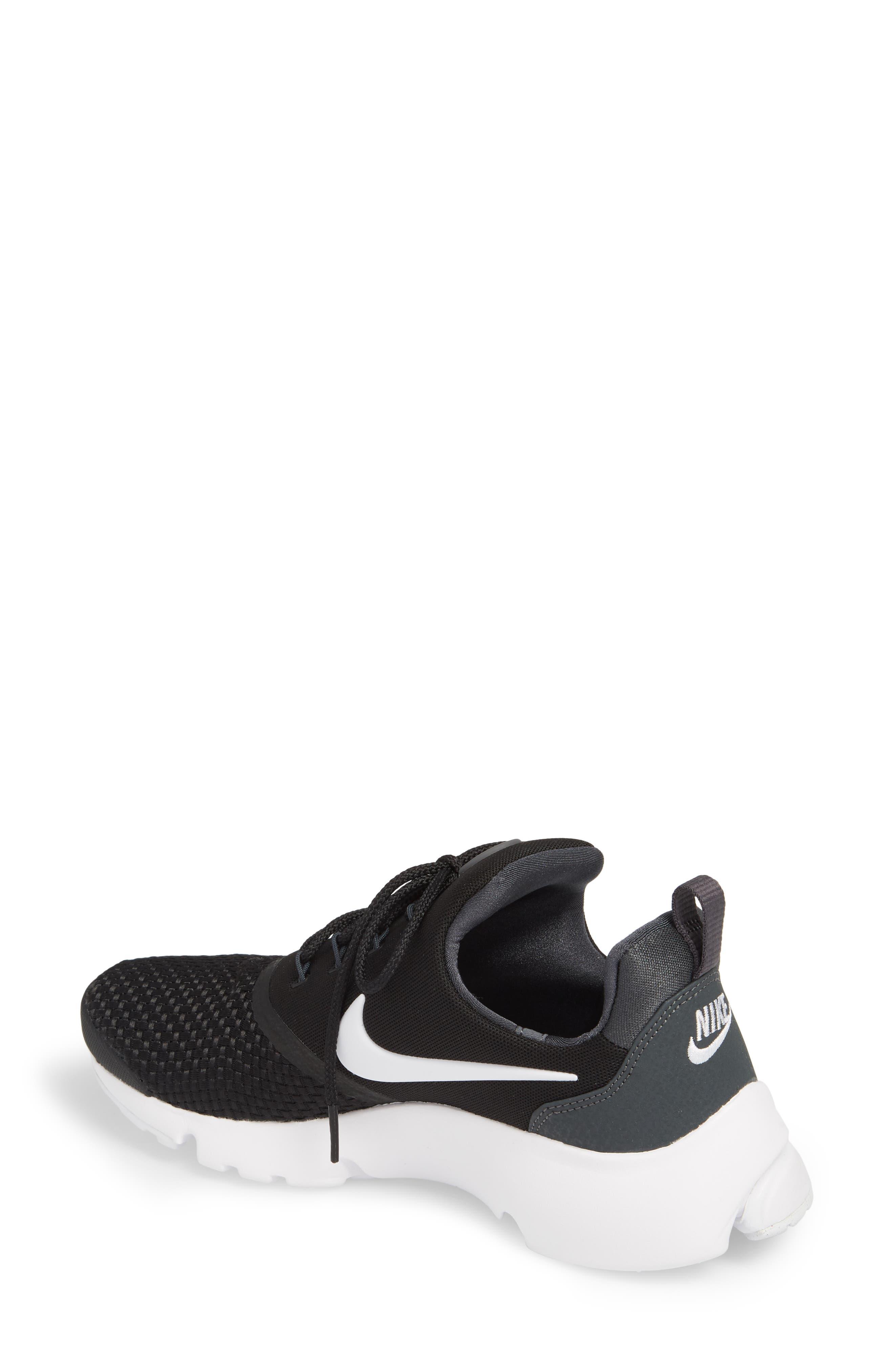 Presto Fly Sneaker,                             Alternate thumbnail 2, color,                             BLACK/ WHITE/ ANTHRACITE