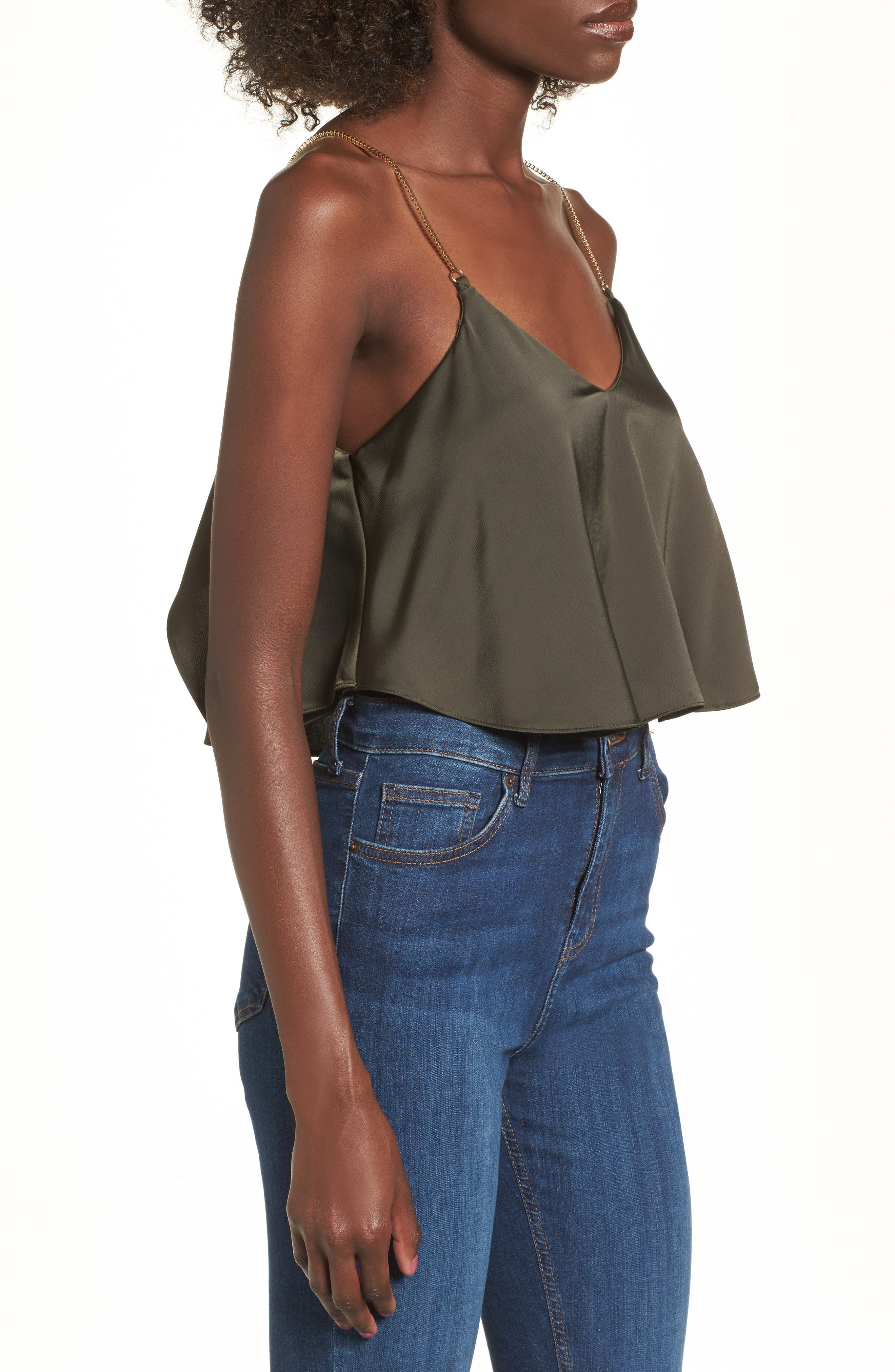 Chain Strap Camisole Top,                             Alternate thumbnail 11, color,