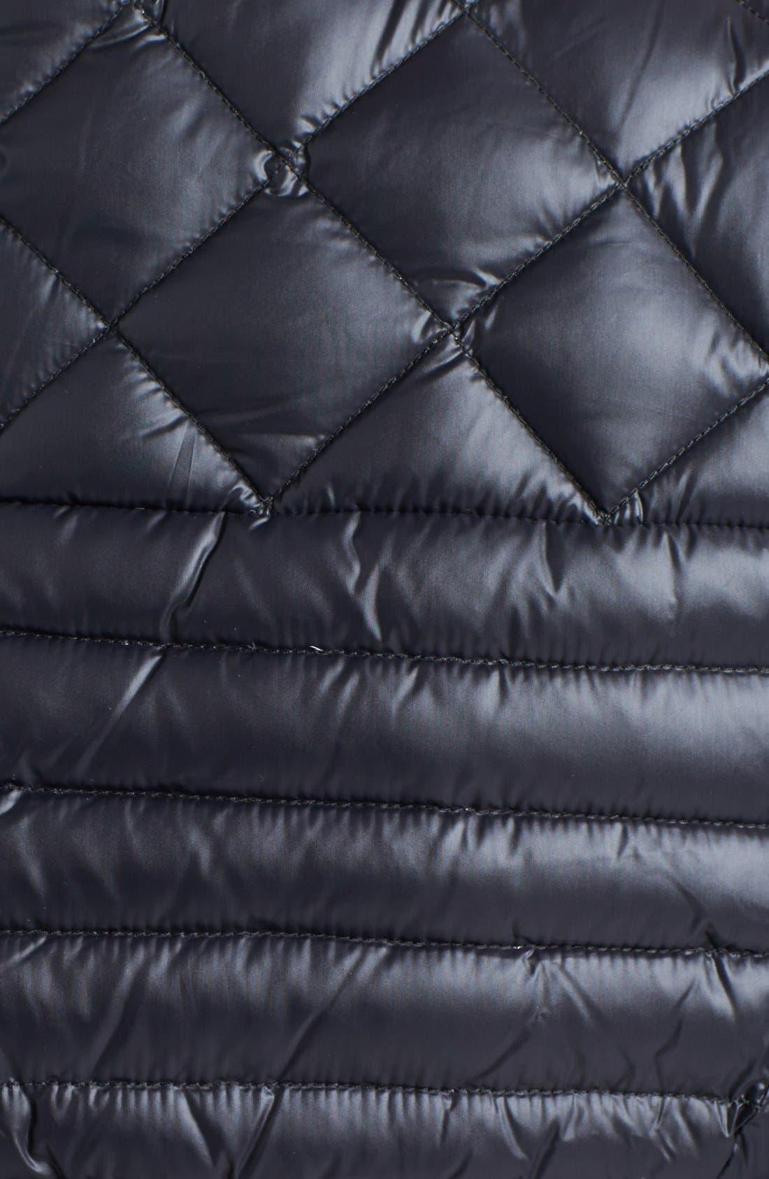 Packable Goose Down Vest,                             Alternate thumbnail 3, color,                             009