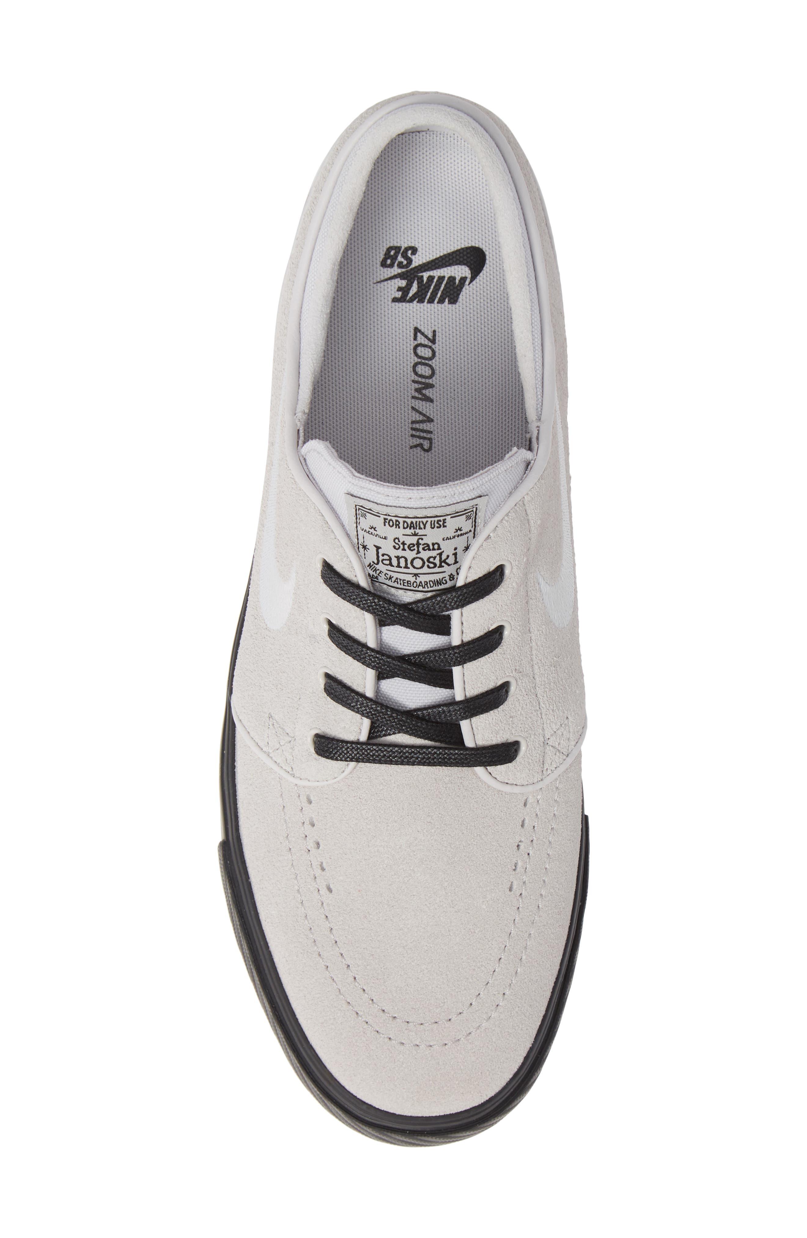 'Zoom - Stefan Janoski' Skate Shoe,                             Alternate thumbnail 5, color,                             068