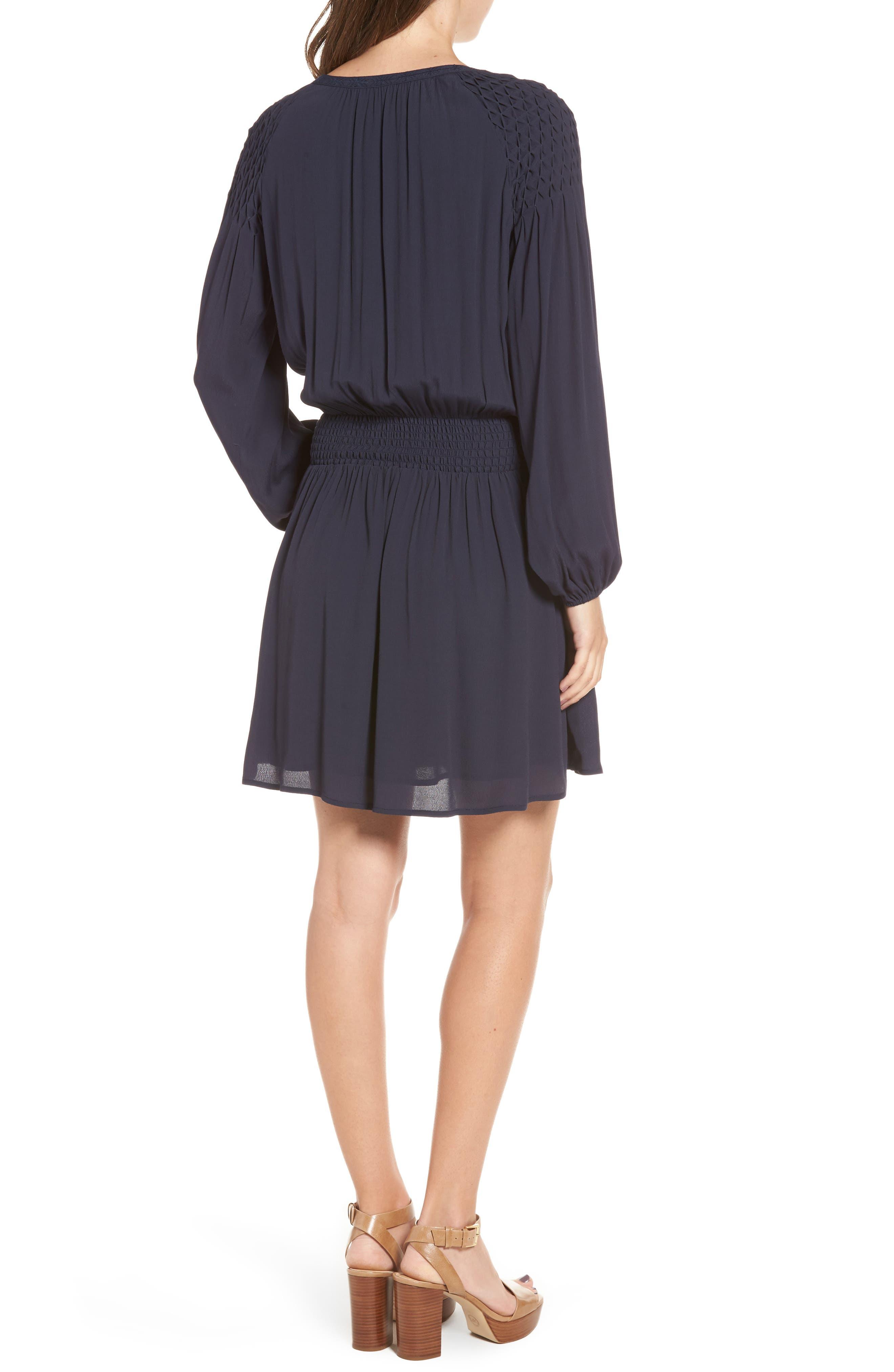 Melinda Blouson Dress,                             Alternate thumbnail 3, color,