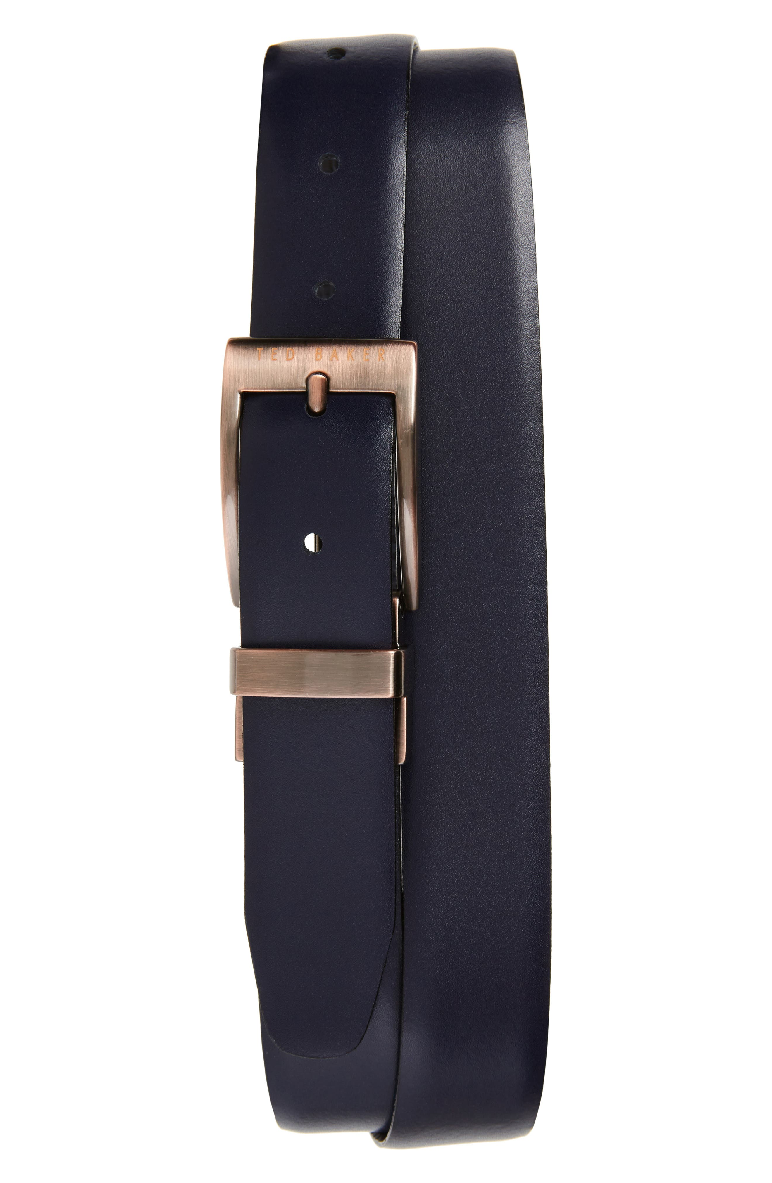 Kong Reversible Leather Belt,                             Alternate thumbnail 2, color,                             410