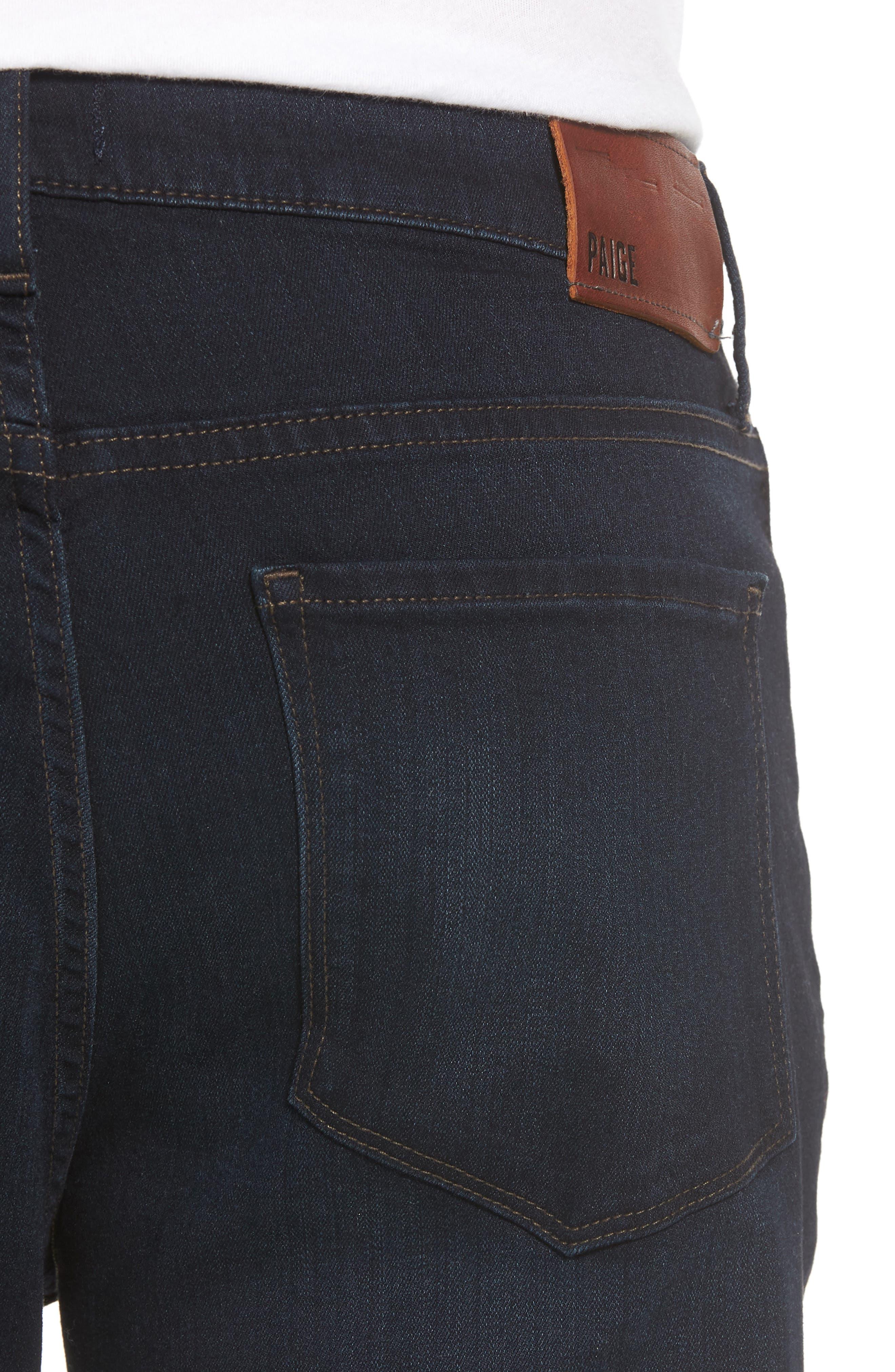 Normandie Straight Leg Jeans,                             Alternate thumbnail 4, color,                             FLEET