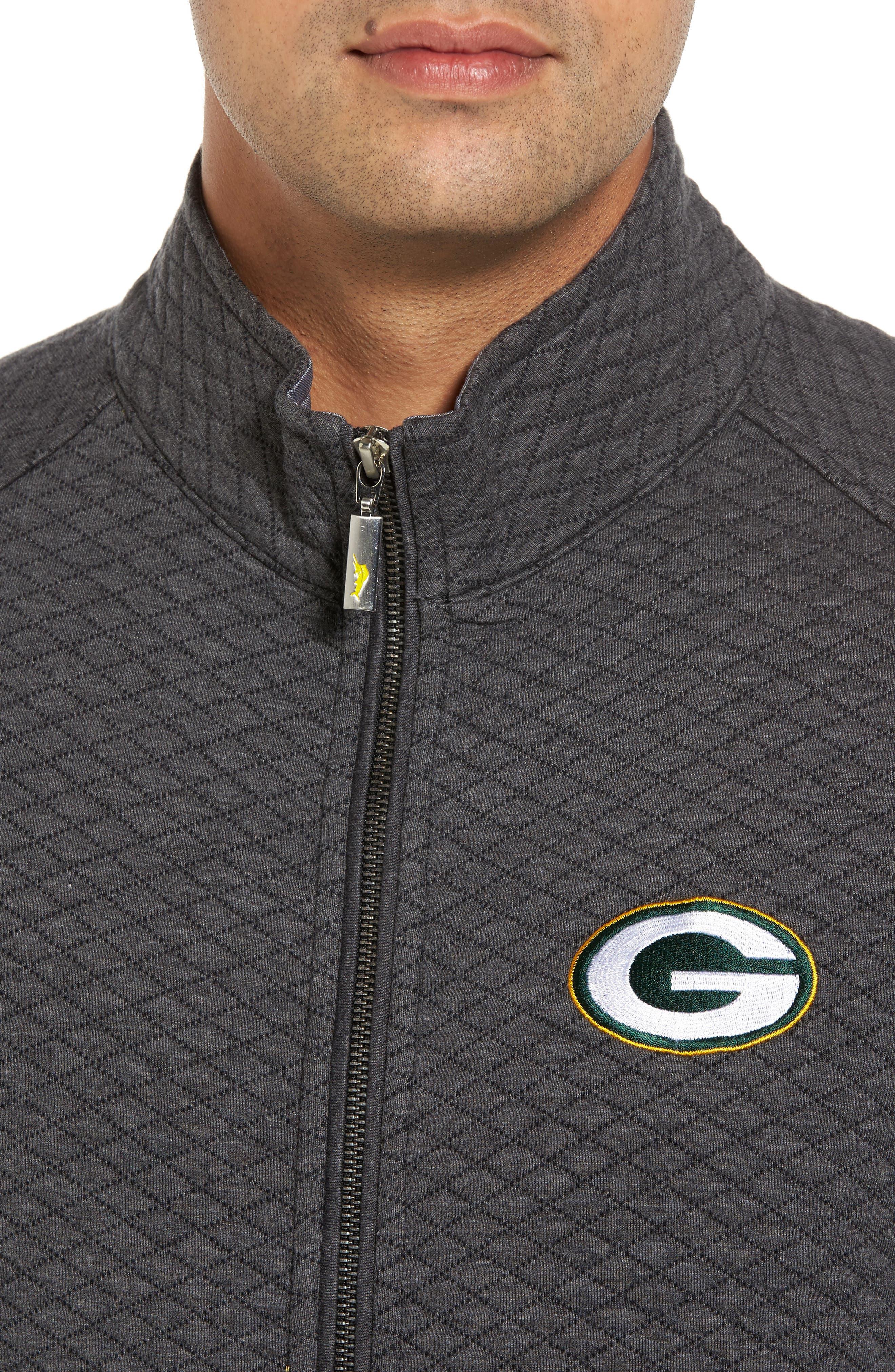 NFL Quiltessential Full Zip Sweatshirt,                             Alternate thumbnail 113, color,