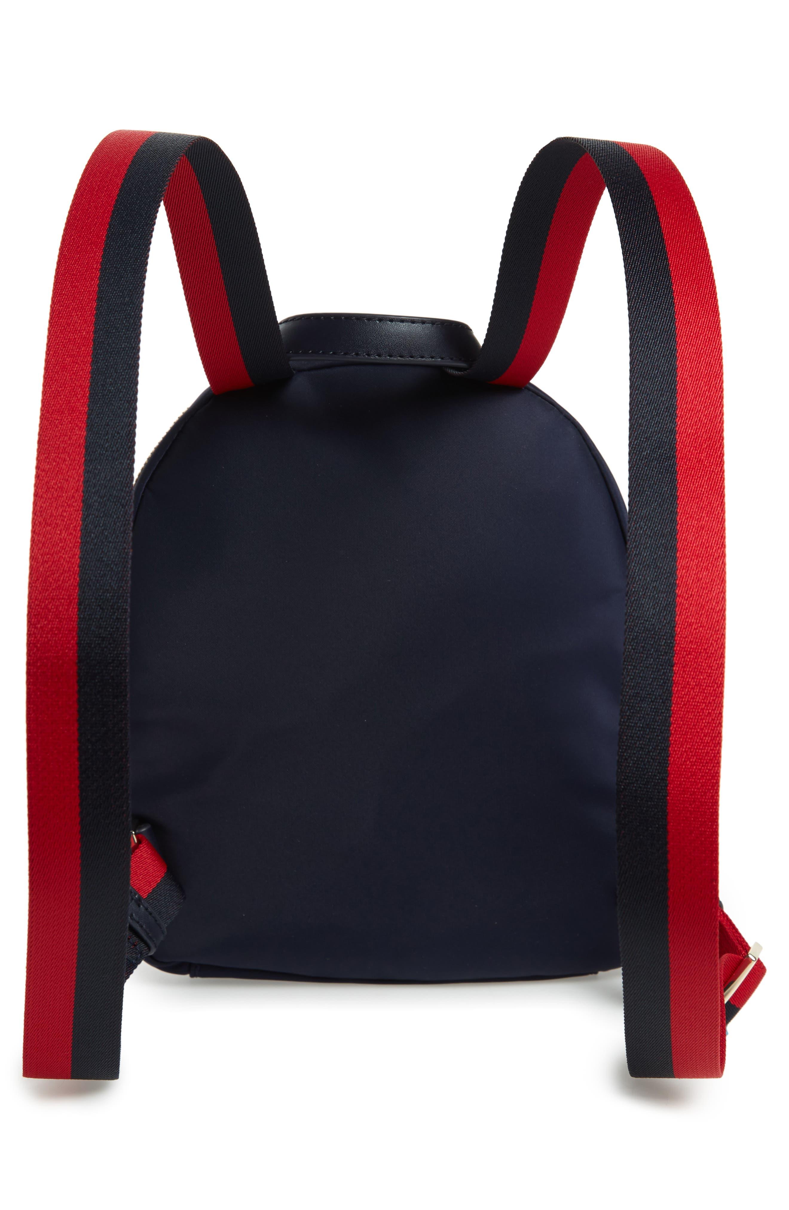 KATE SPADE NEW YORK,                             kate spade watson lane varsity stripe small backpack,                             Alternate thumbnail 3, color,                             400