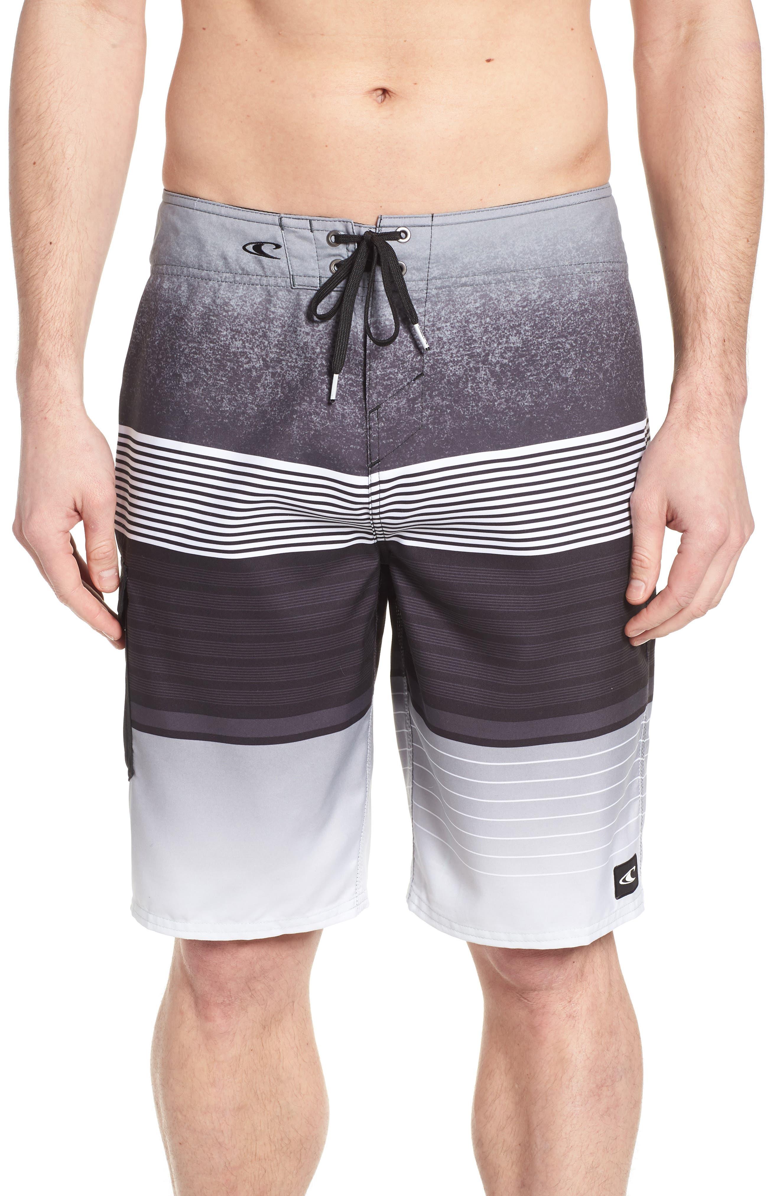 O'NEILL,                             Lennox Board Shorts,                             Main thumbnail 1, color,                             001