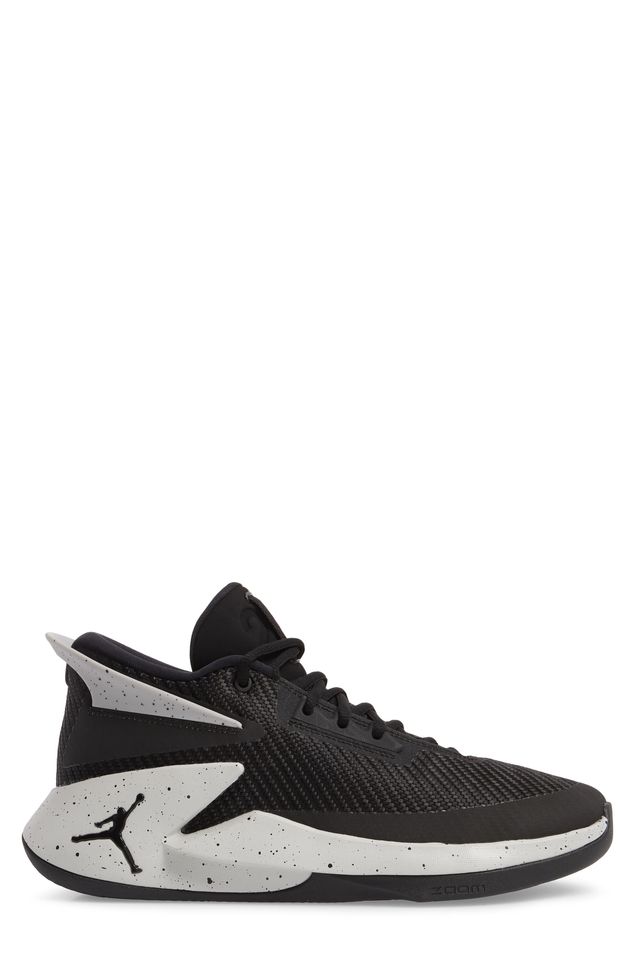 Jordan Fly Lockdown Sneaker,                             Alternate thumbnail 3, color,                             010
