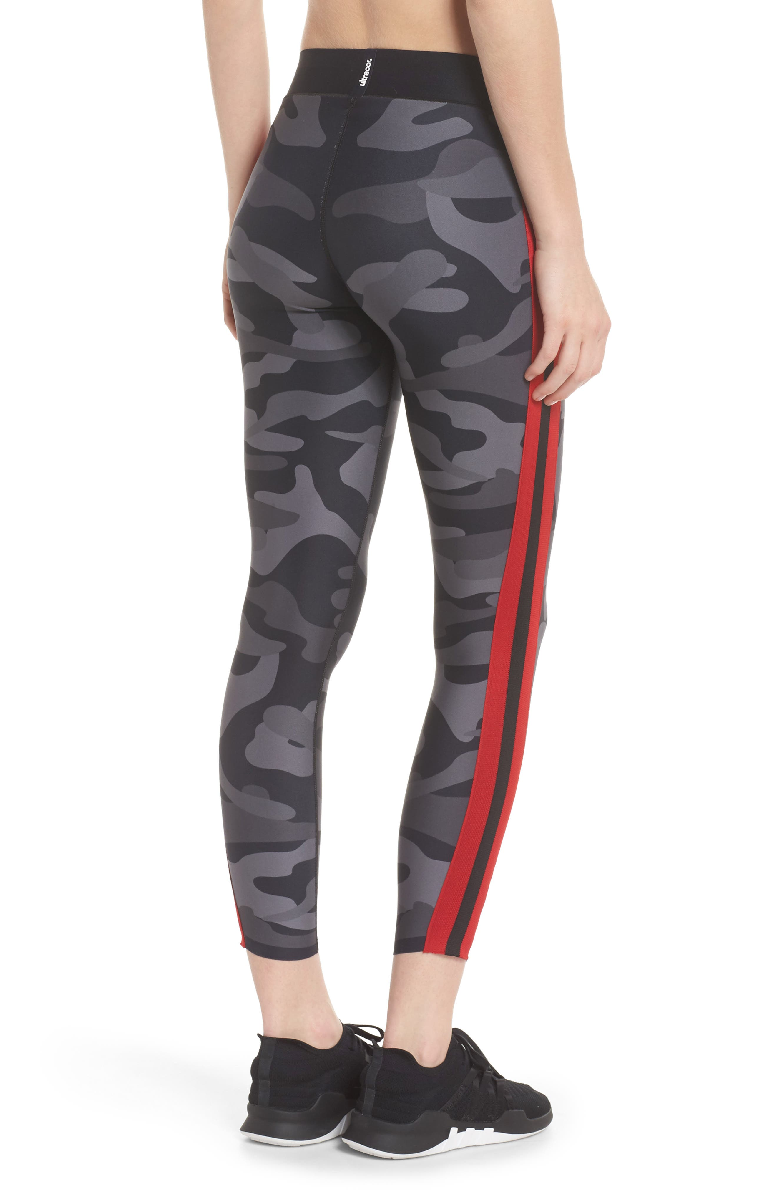 Ultra Camo Collegiate Leggings,                             Alternate thumbnail 2, color,                             005