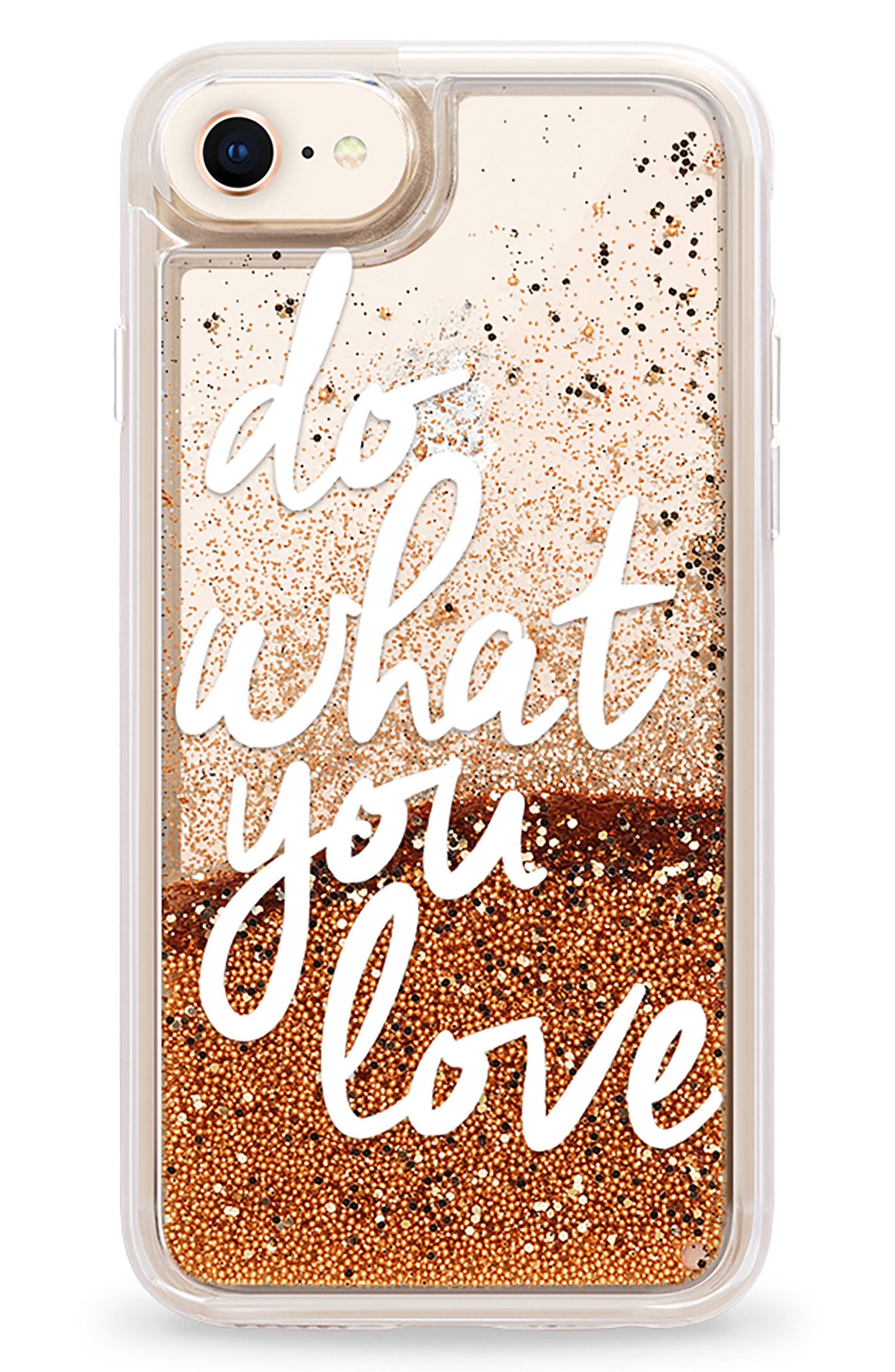 Do What You Love iPhone 7/8 & 7/8 Plus Case,                             Main thumbnail 1, color,                             100
