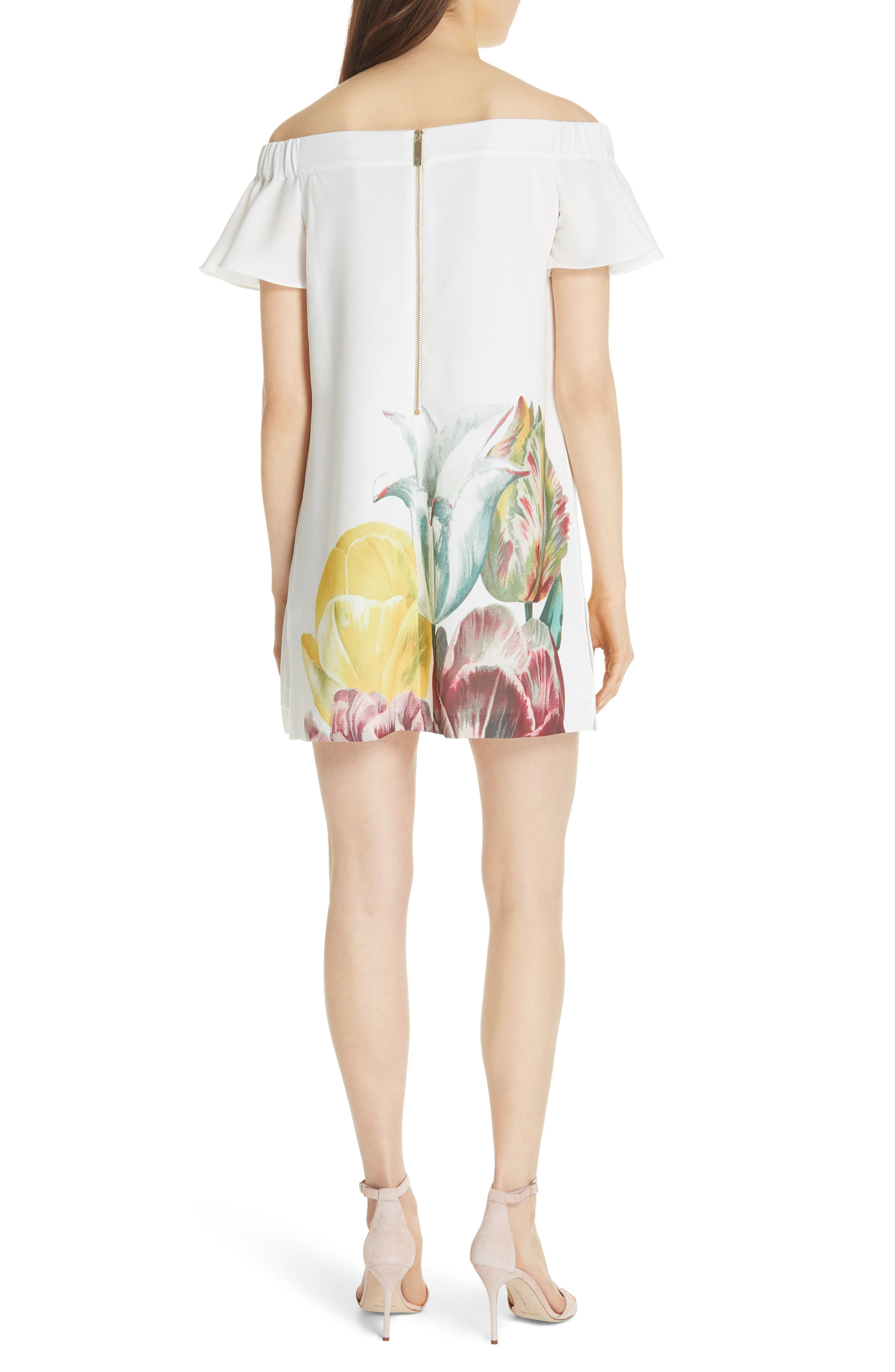 Nayylee Tranquility Romper,                             Alternate thumbnail 2, color,                             WHITE