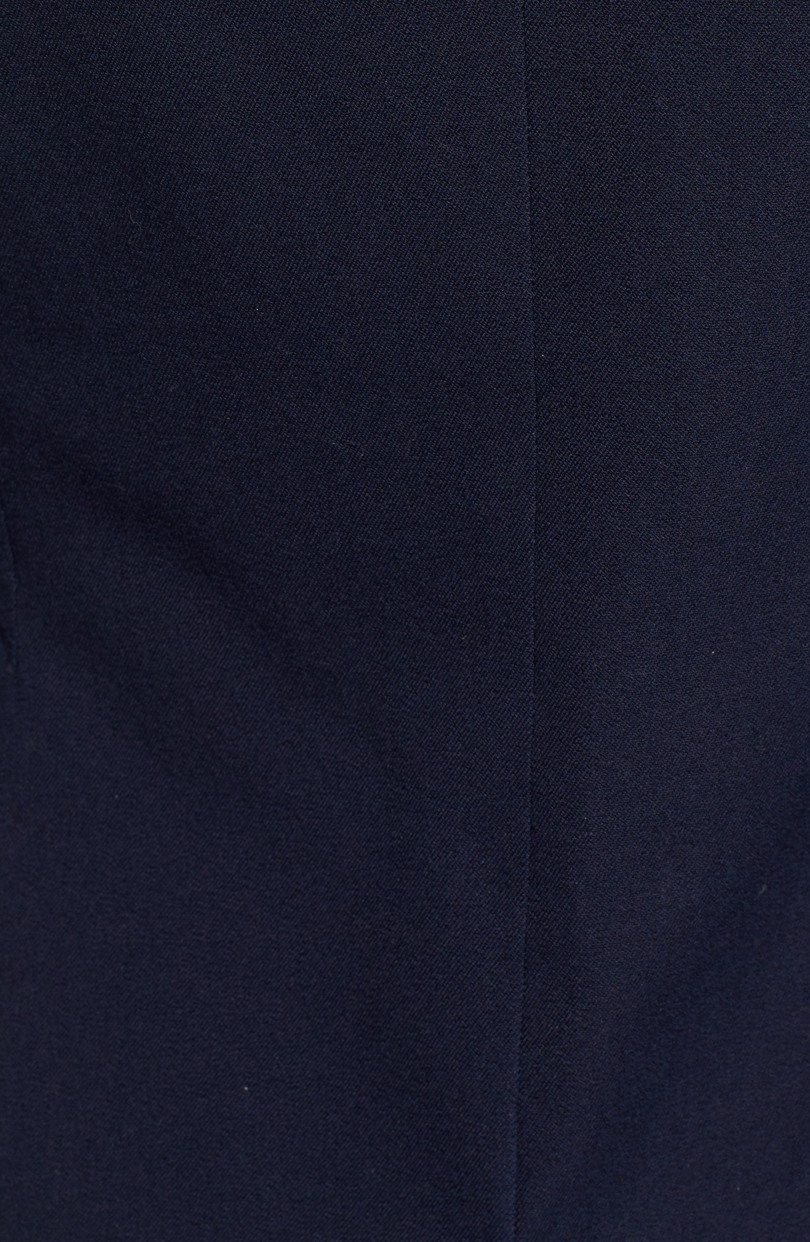 Stretch Cotton Twill Blazer,                             Alternate thumbnail 7, color,                             NAVY NIGHT