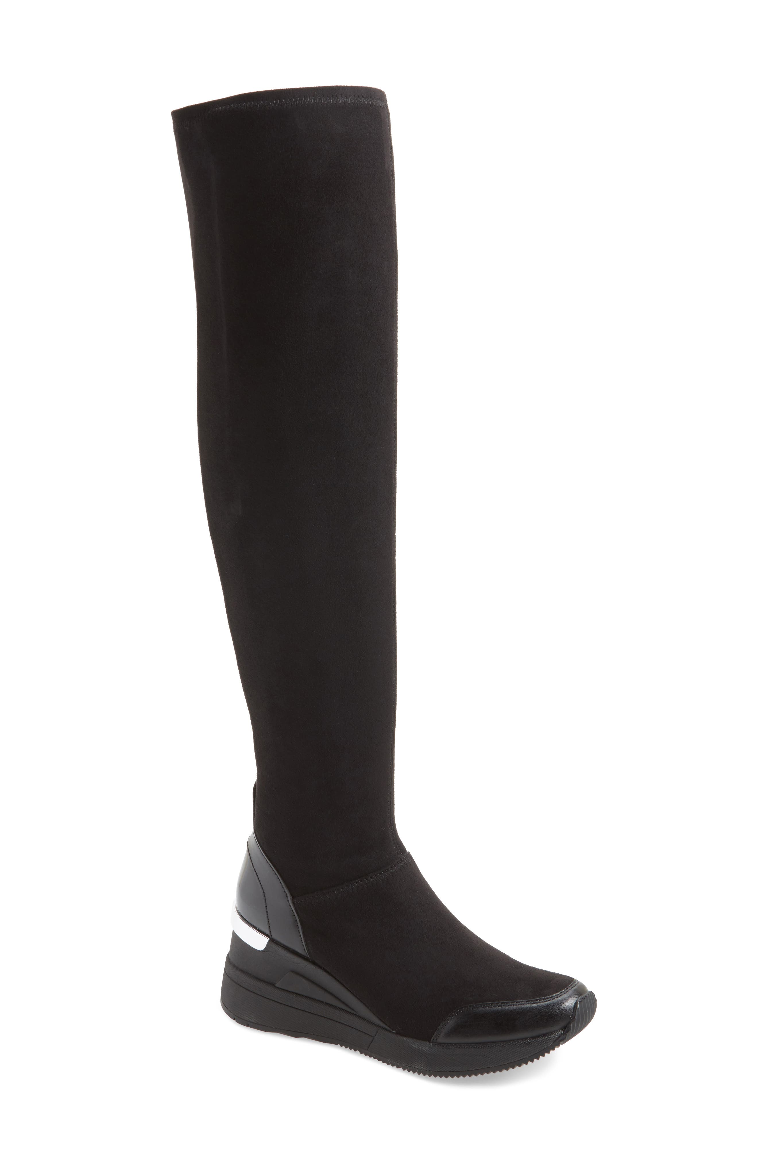Ace Over the Knee Boot,                             Main thumbnail 1, color,                             002