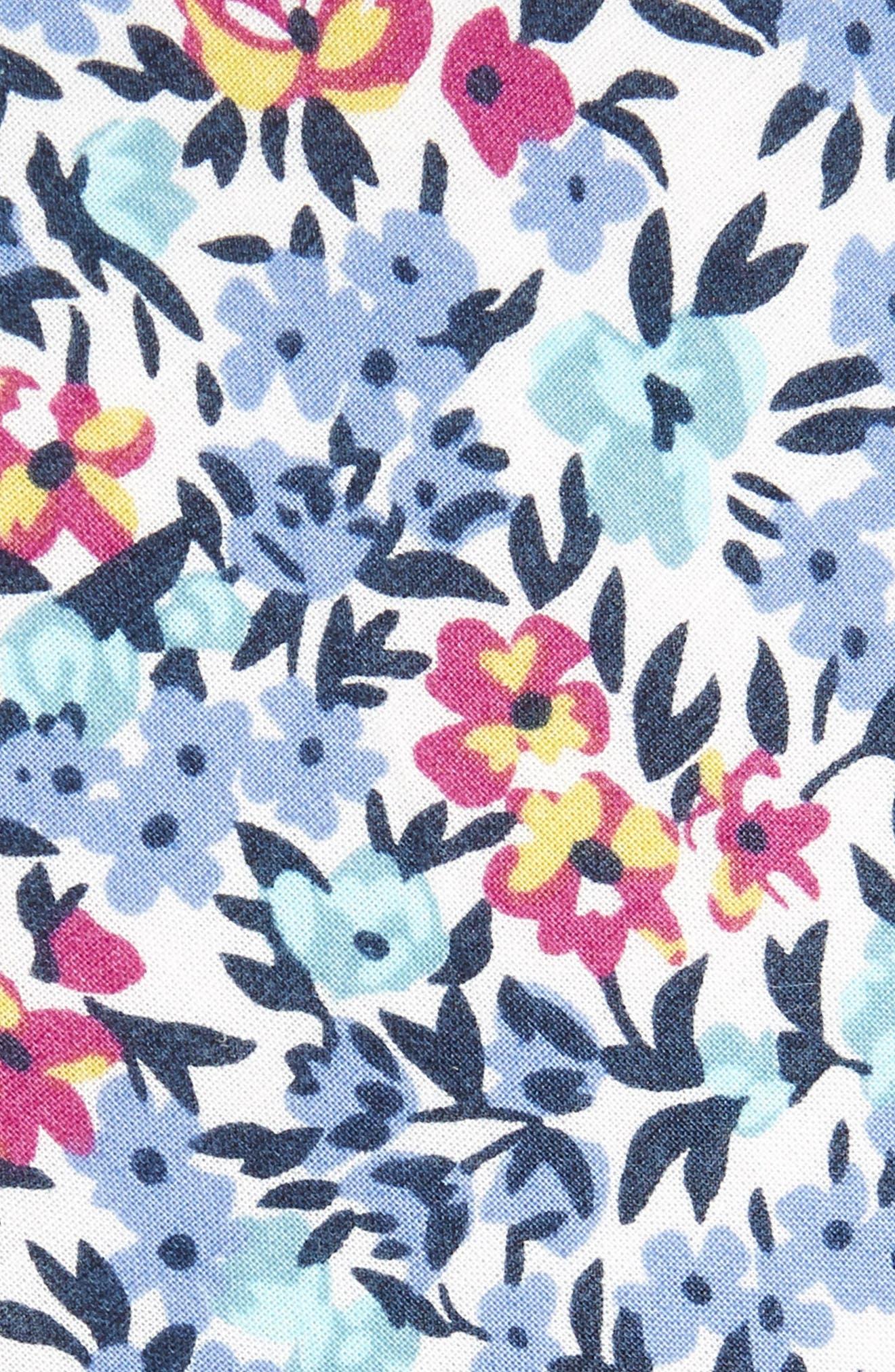 Anvil Floral Cotton Skinny Tie,                             Alternate thumbnail 2, color,                             400