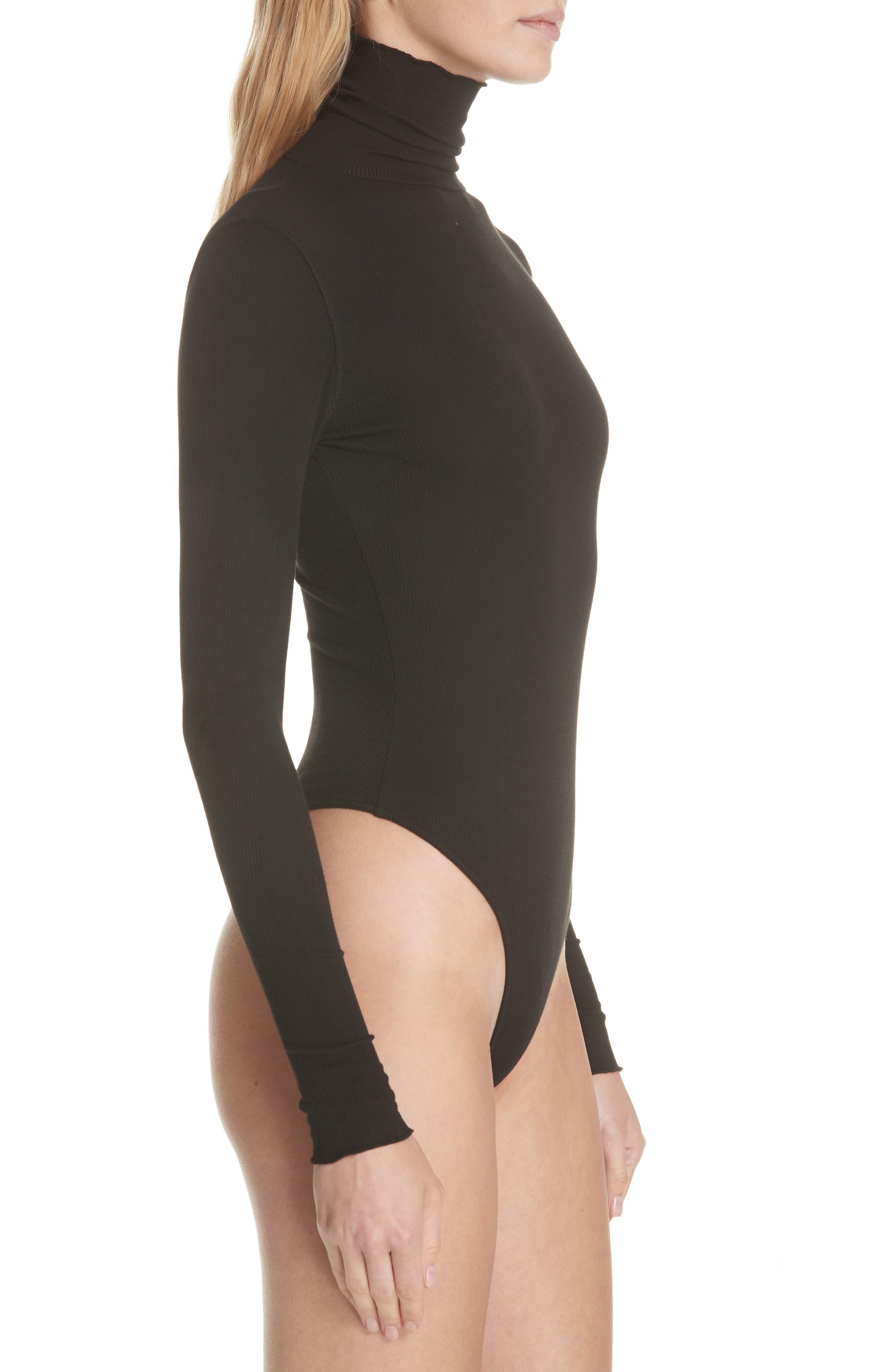 That Classic Girl Bodysuit,                             Alternate thumbnail 4, color,                             BLACK