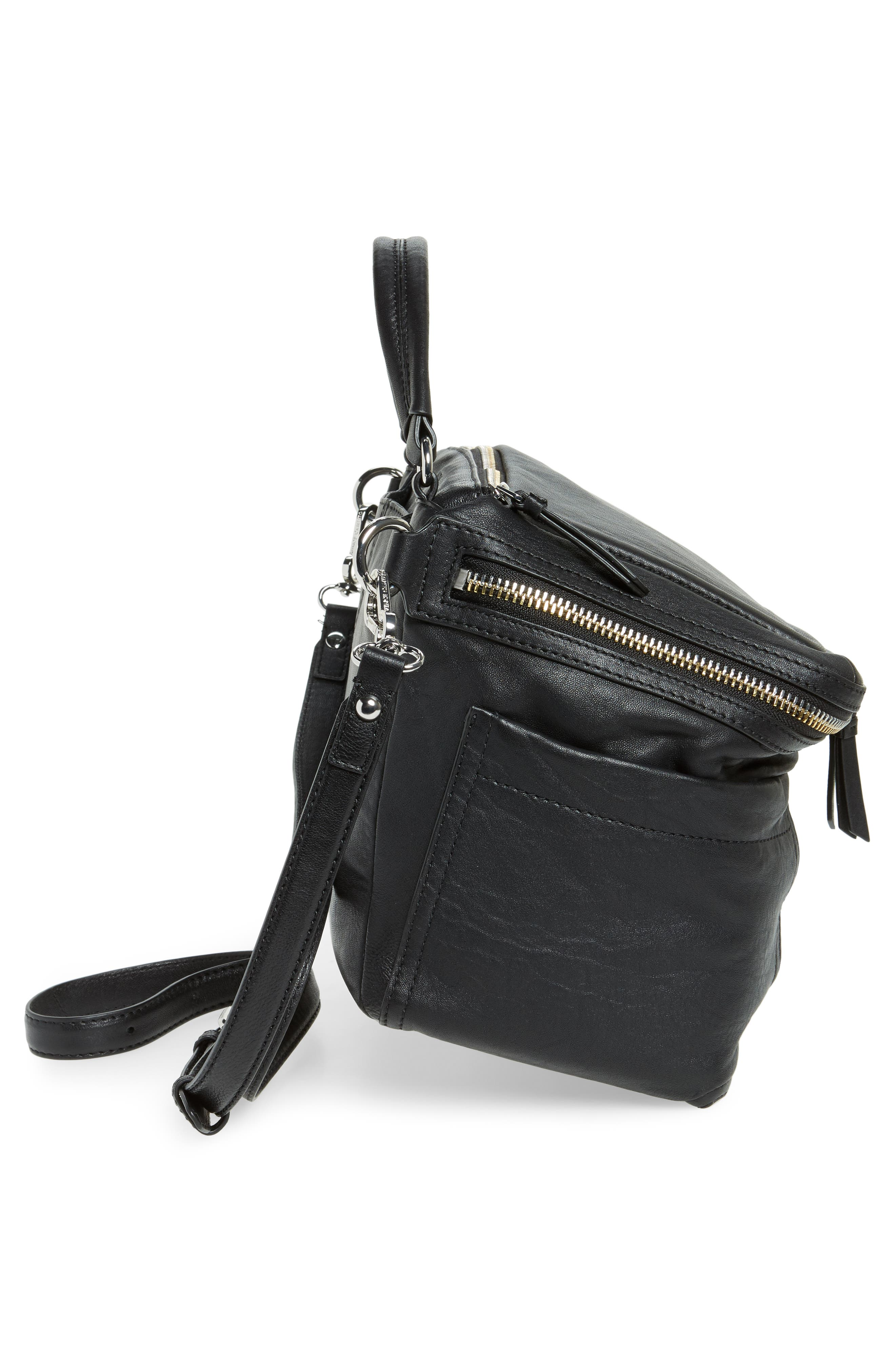 Large Patch Leather Crossbody Bag,                             Alternate thumbnail 14, color,