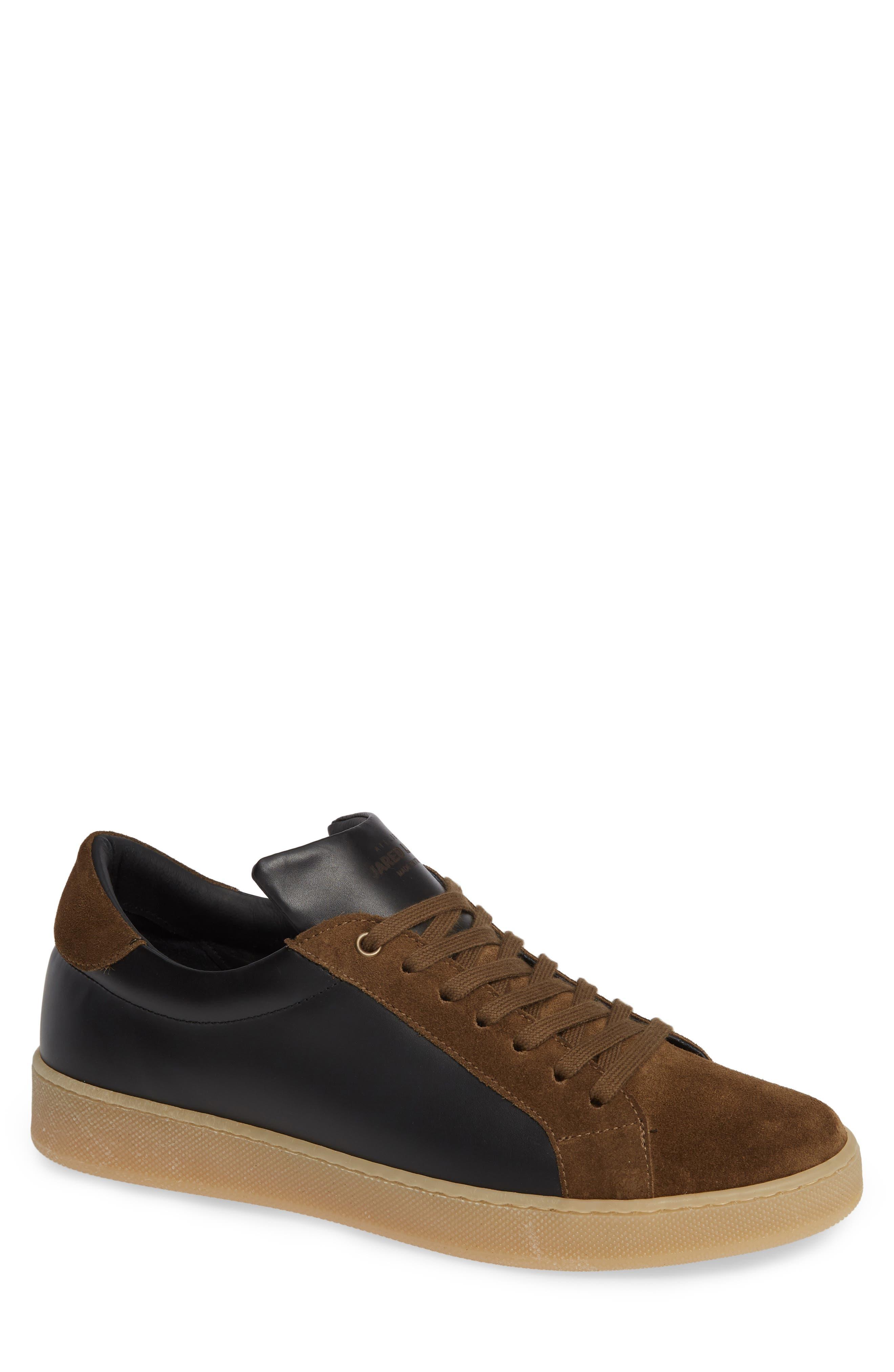 Rome Sneaker,                         Main,                         color, BLACK/ GEIGE