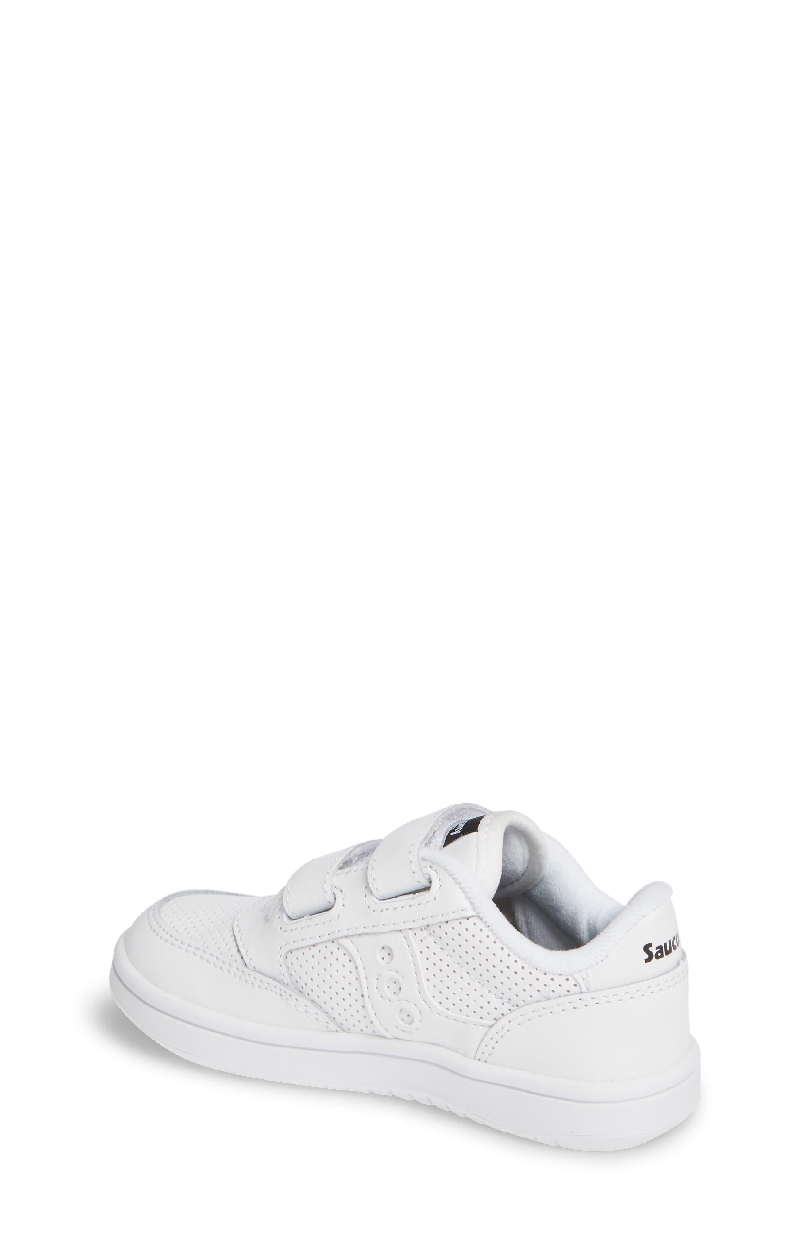 Jazz Court Sneaker,                             Alternate thumbnail 2, color,                             WHITE