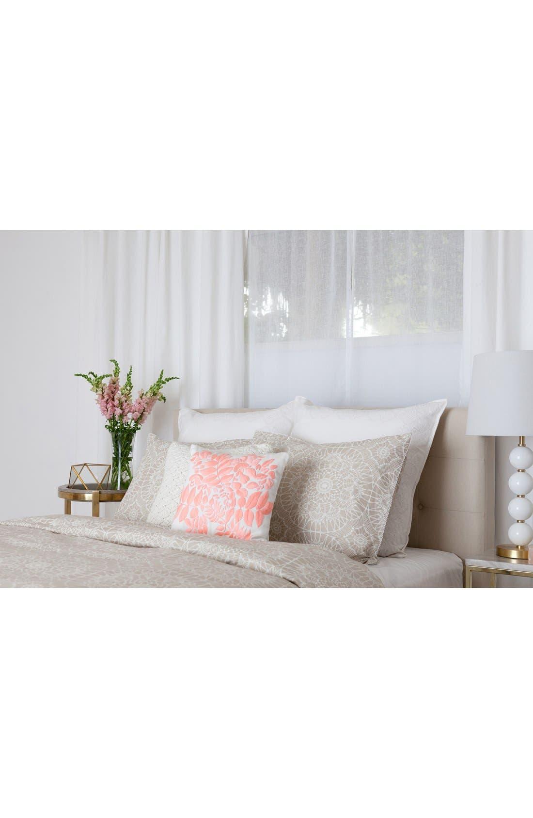 'Lace Medallion' Crochet Pillow,                             Alternate thumbnail 4, color,