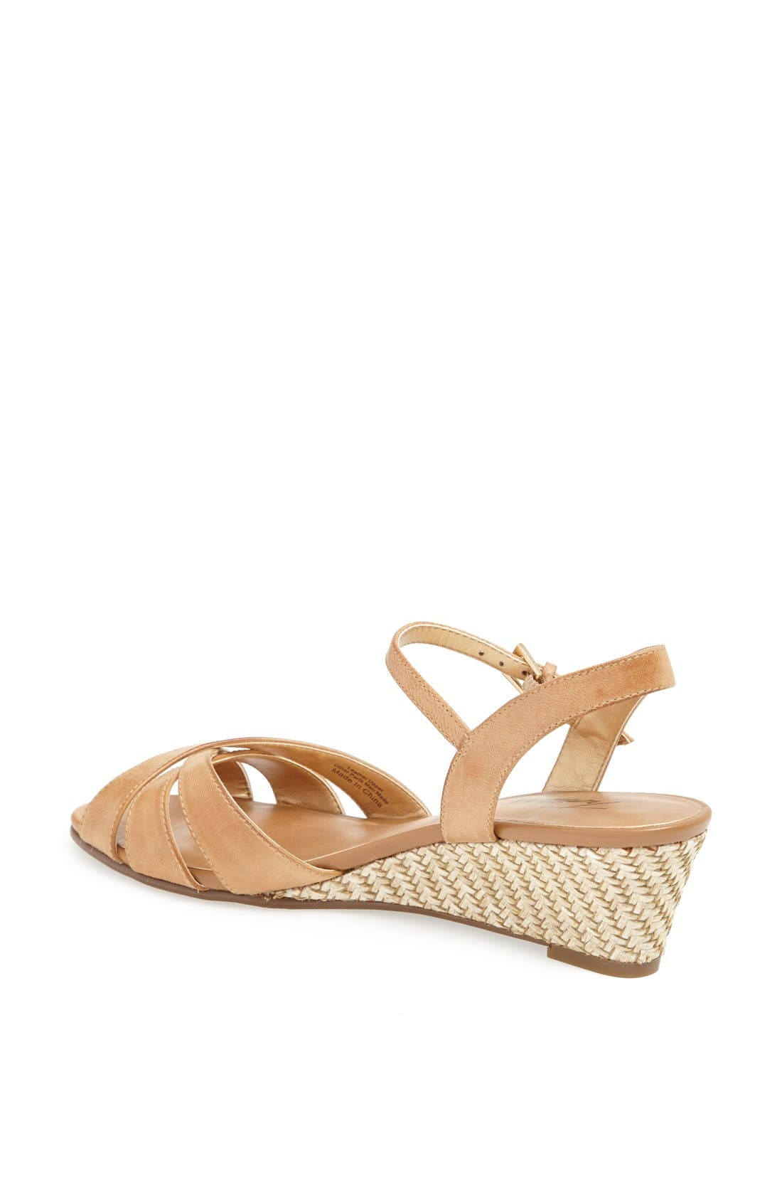 'Mickey' Wedge Sandal,                             Alternate thumbnail 38, color,