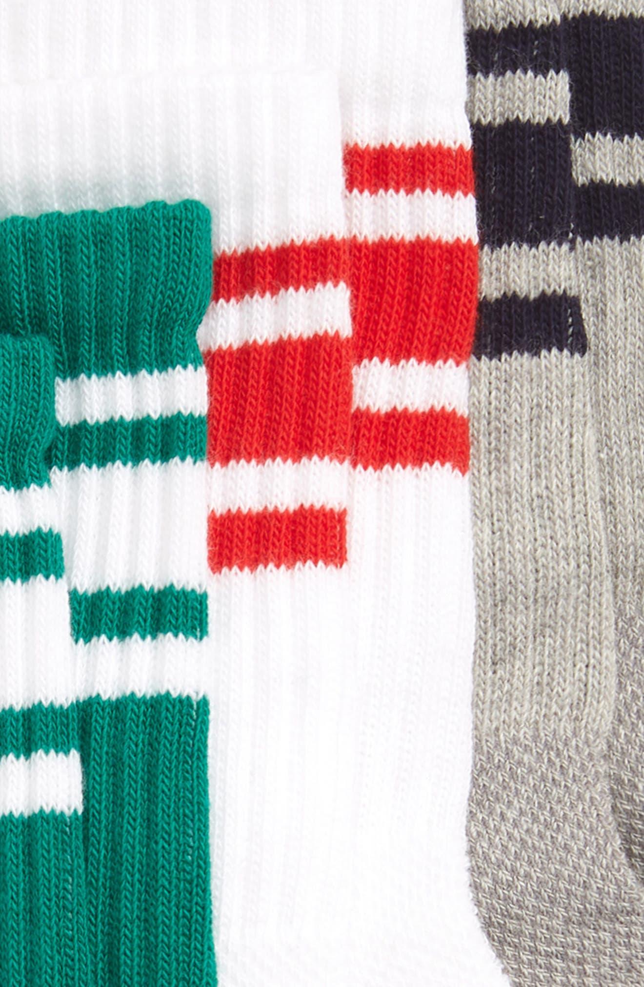 TUCKER + TATE,                             3-Pack Tube Socks,                             Alternate thumbnail 2, color,                             420