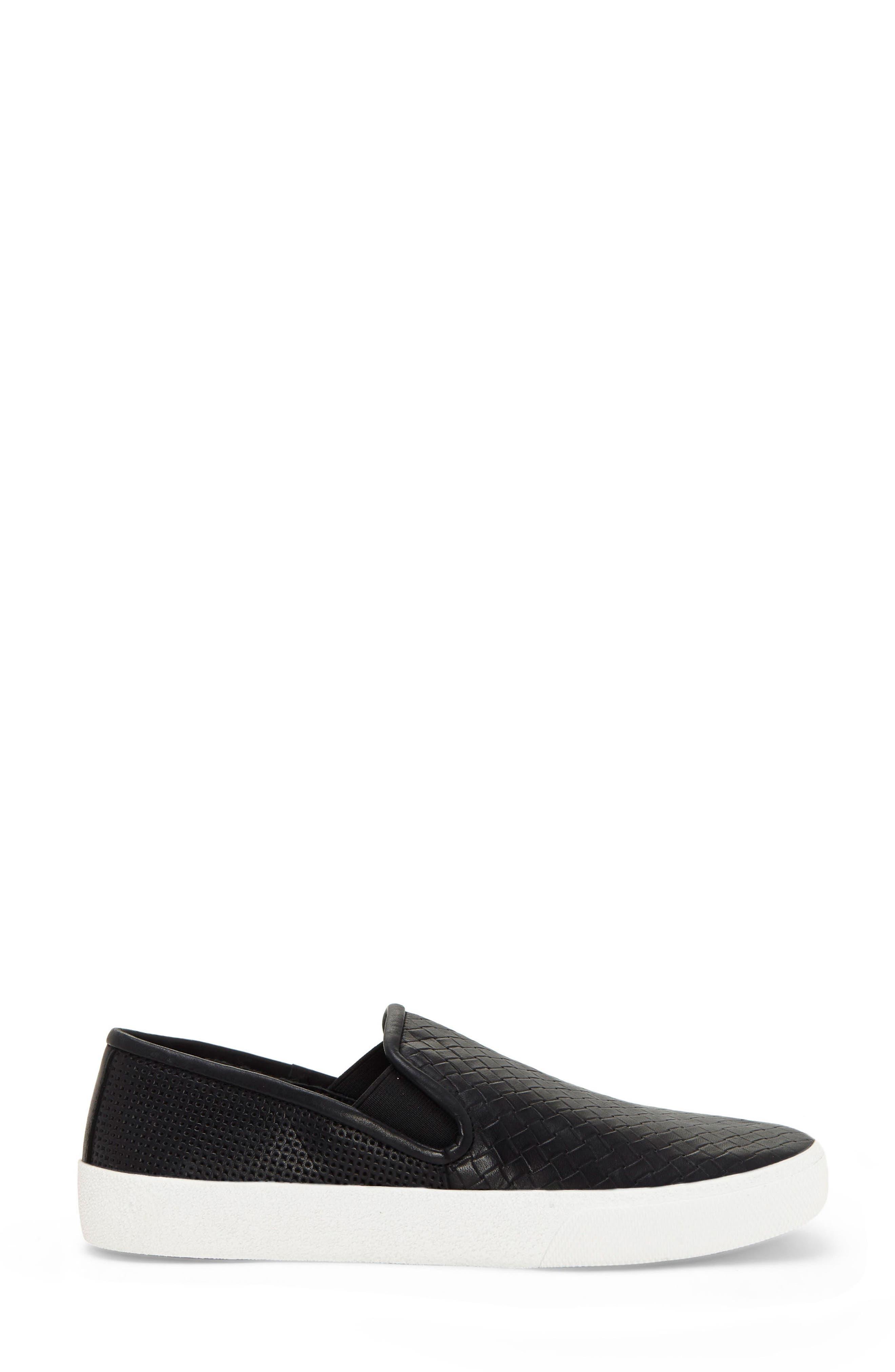 Cariana Slip-On Sneaker,                             Alternate thumbnail 3, color,                             001