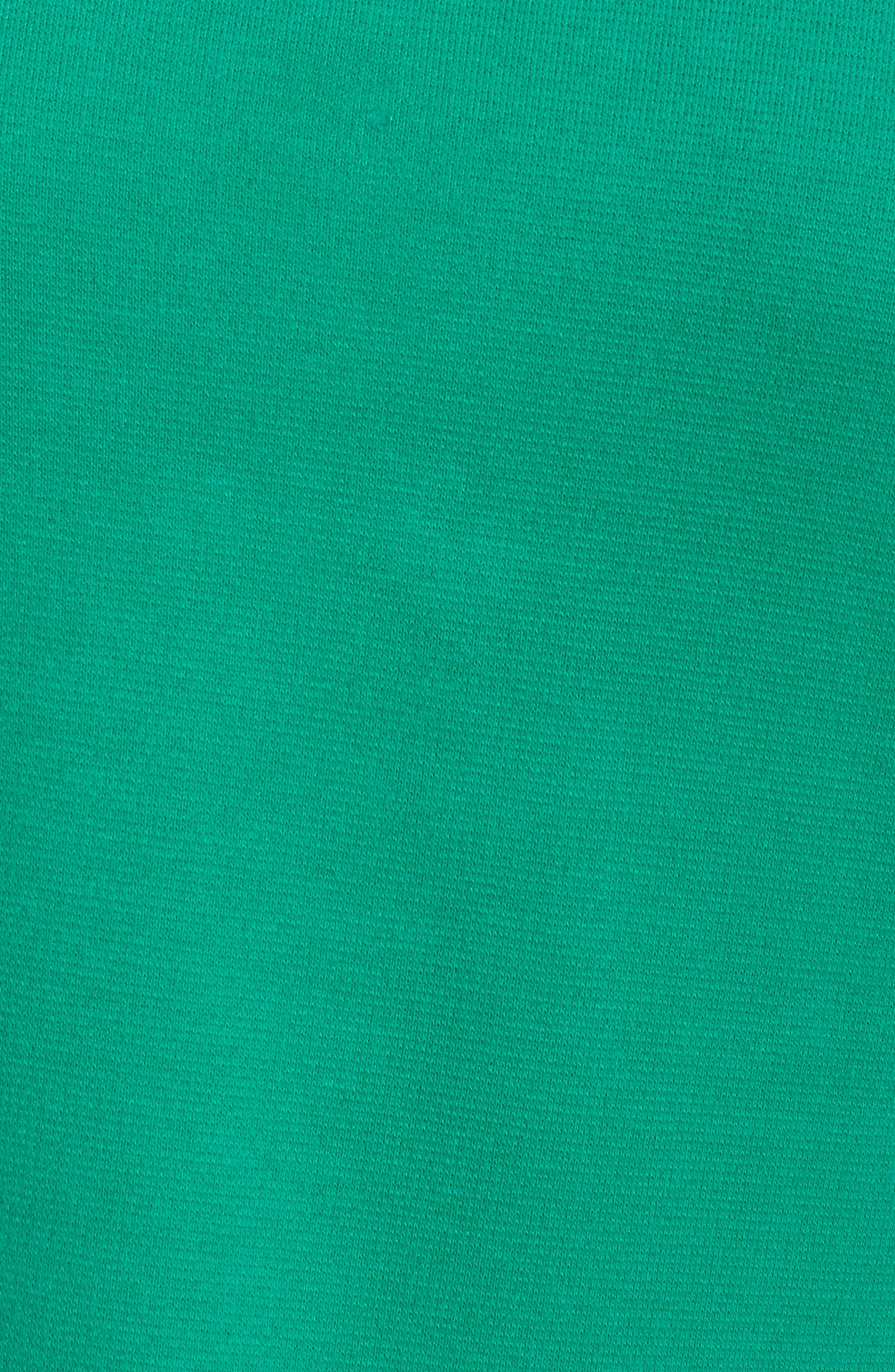 Poplin Tie Cuff Knit Top,                             Alternate thumbnail 9, color,