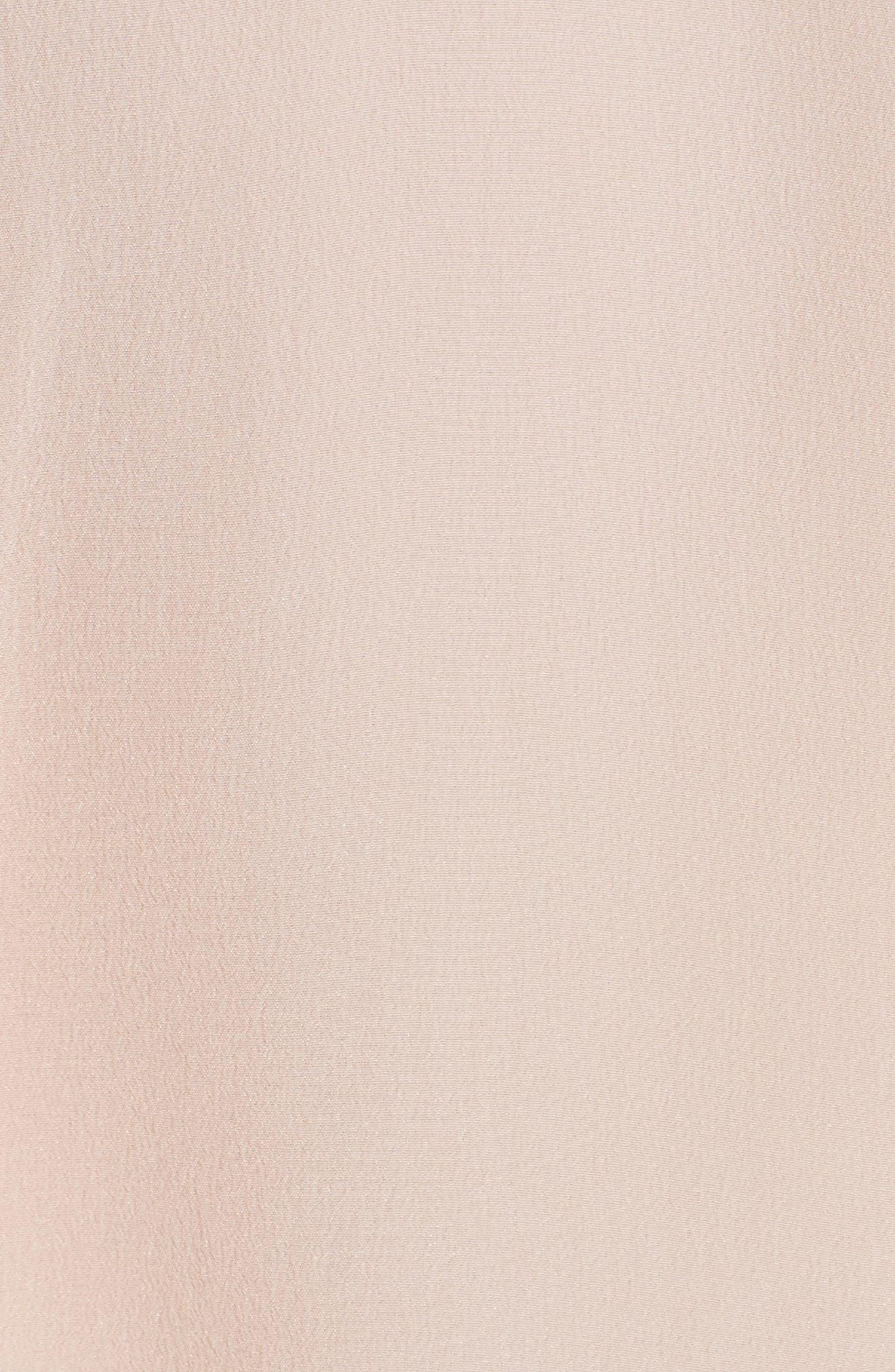 'Slim Signature' Sleeveless Silk Shirt,                             Alternate thumbnail 152, color,