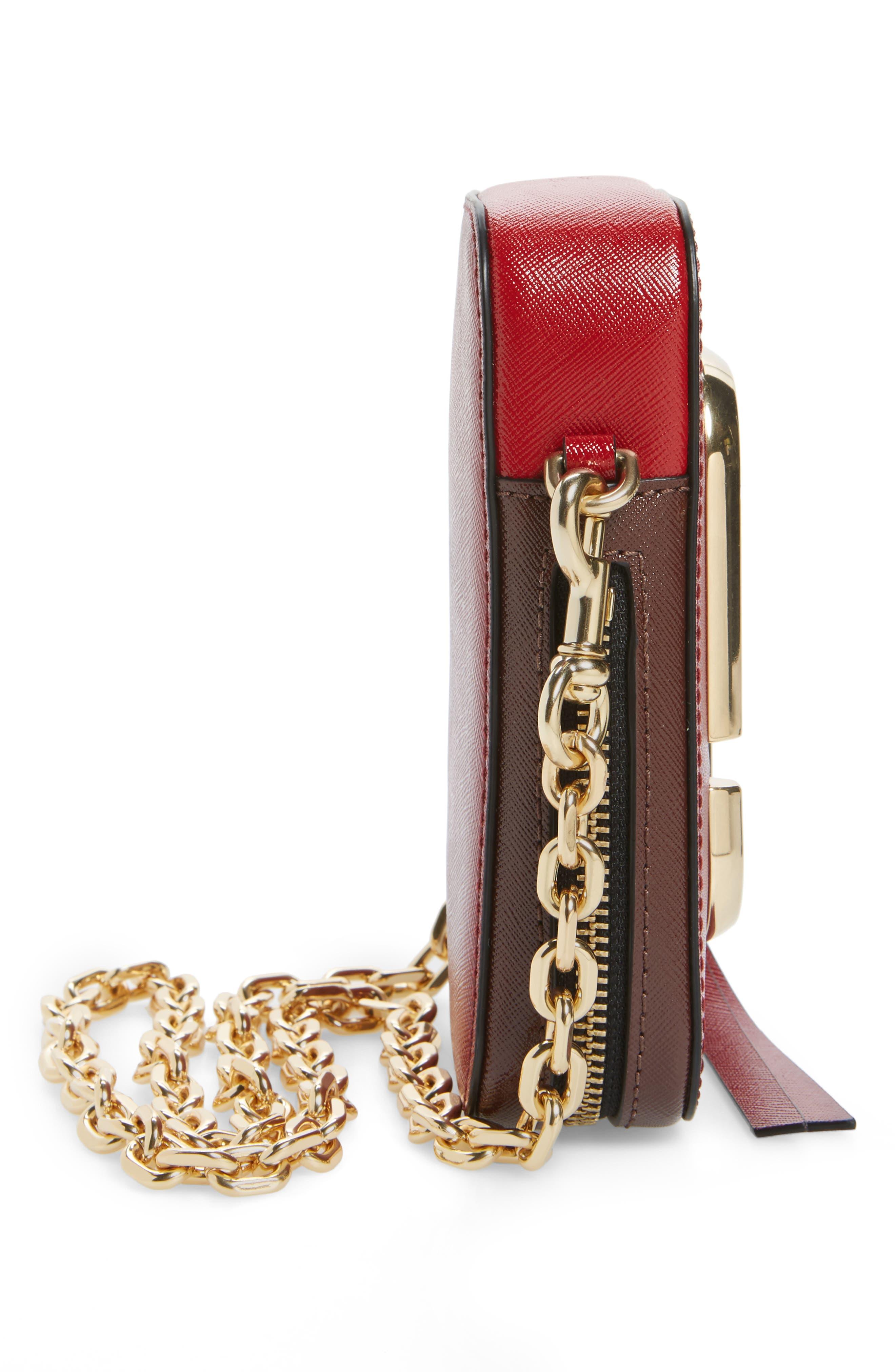 Hot Shot Saffiano Leather Shoulder Bag,                             Alternate thumbnail 20, color,