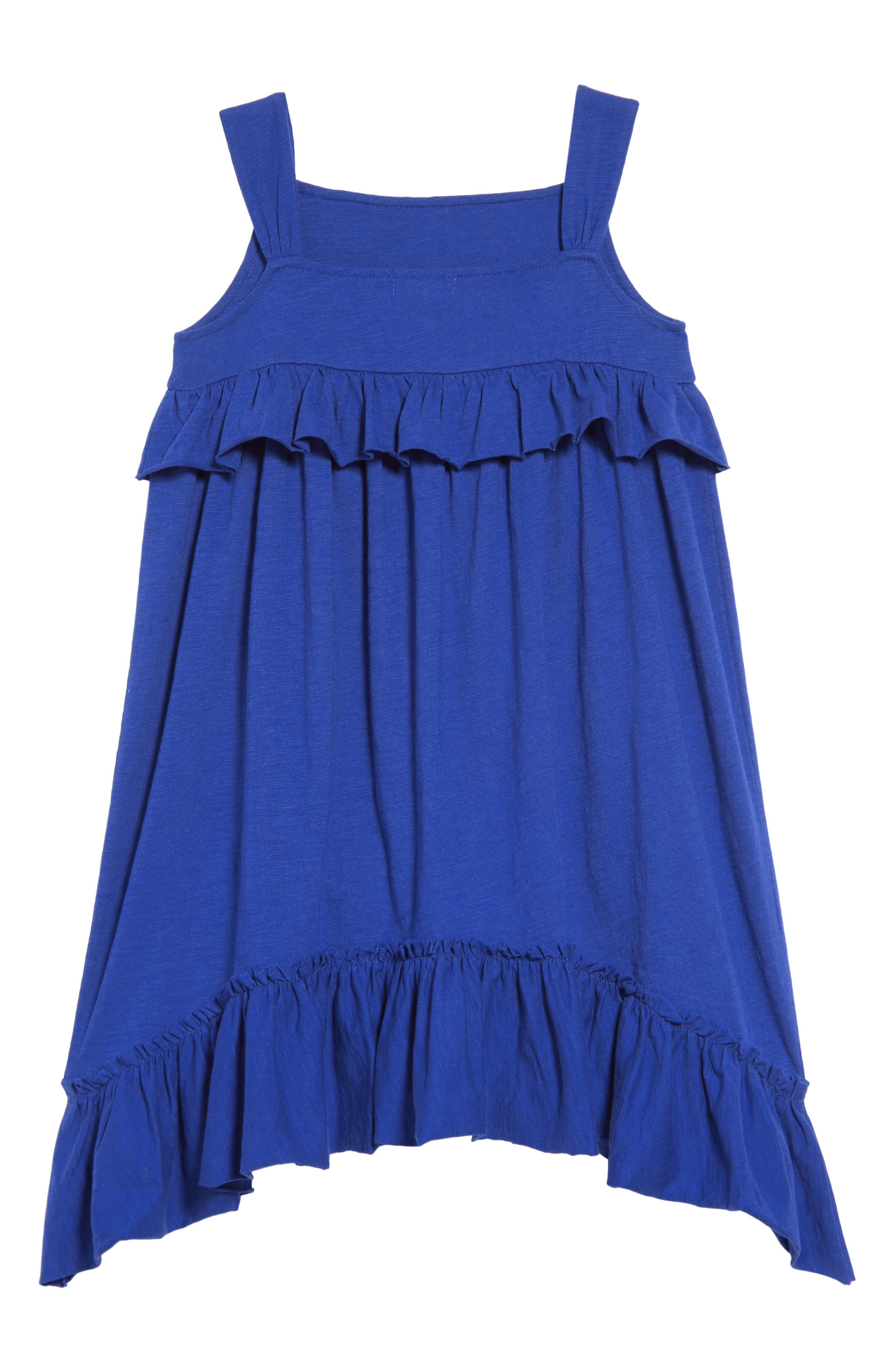 CREWCUTS BY J.CREW,                             Mimi Ruffle Dress,                             Alternate thumbnail 2, color,                             400