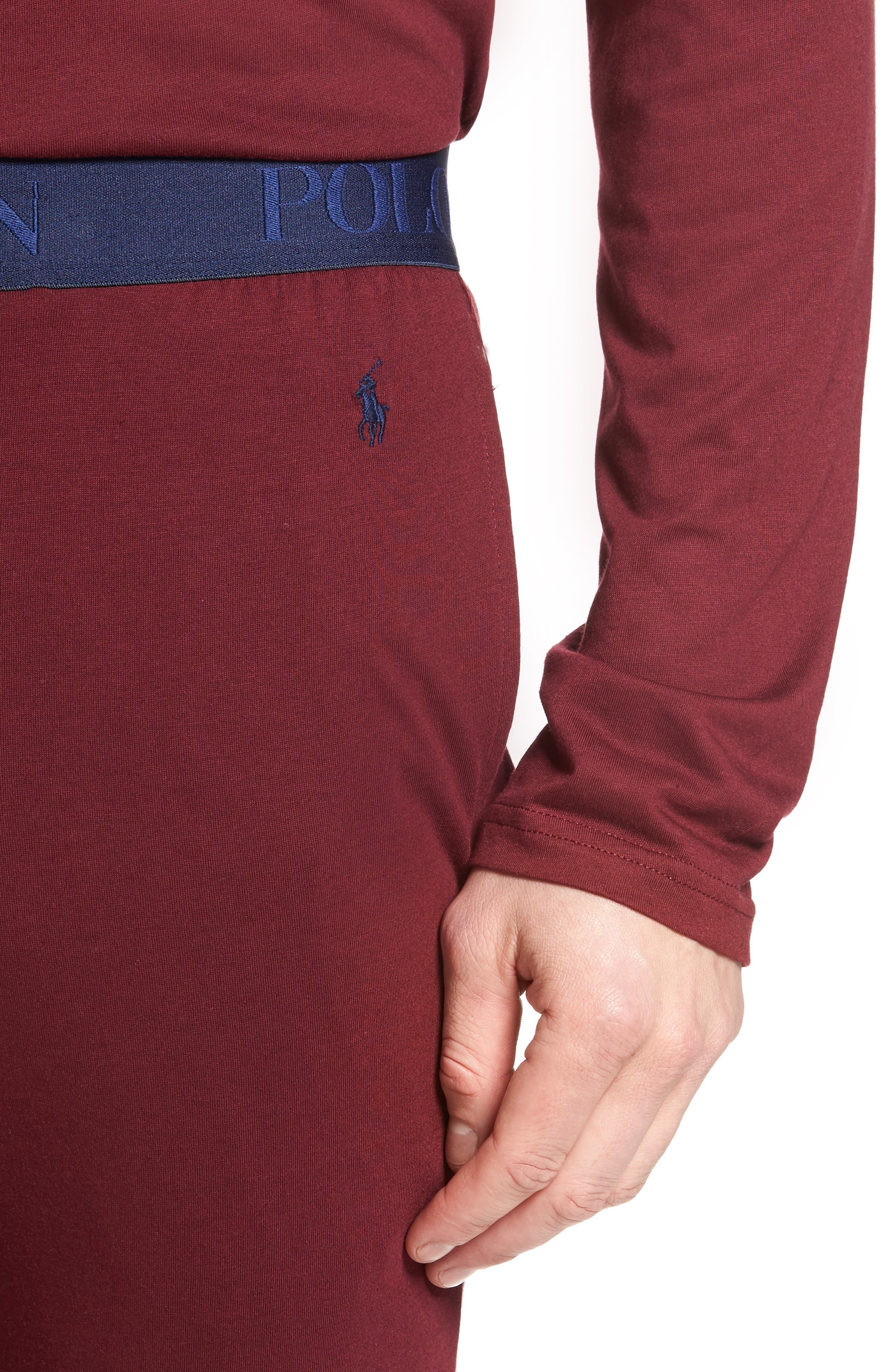 Cotton & Modal Lounge Pants,                             Alternate thumbnail 12, color,