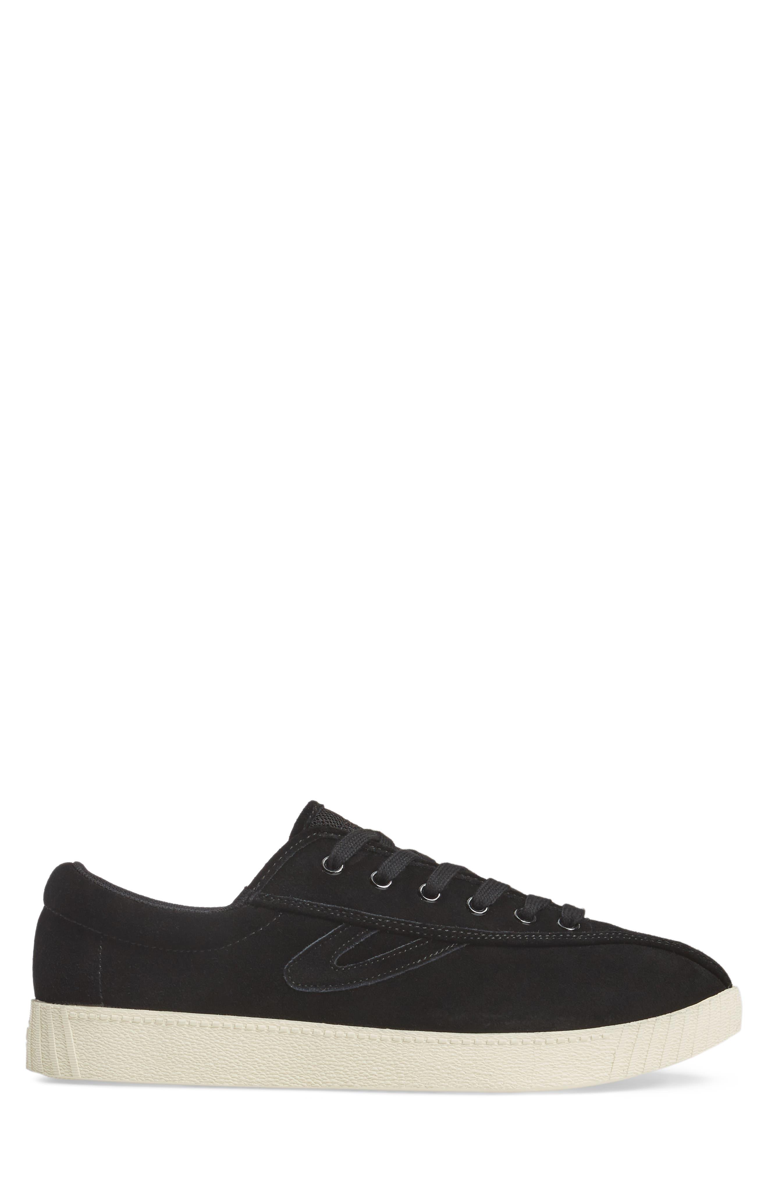 Nylite 16 Sneaker,                             Alternate thumbnail 3, color,                             BLACK/ BLACK SUEDE